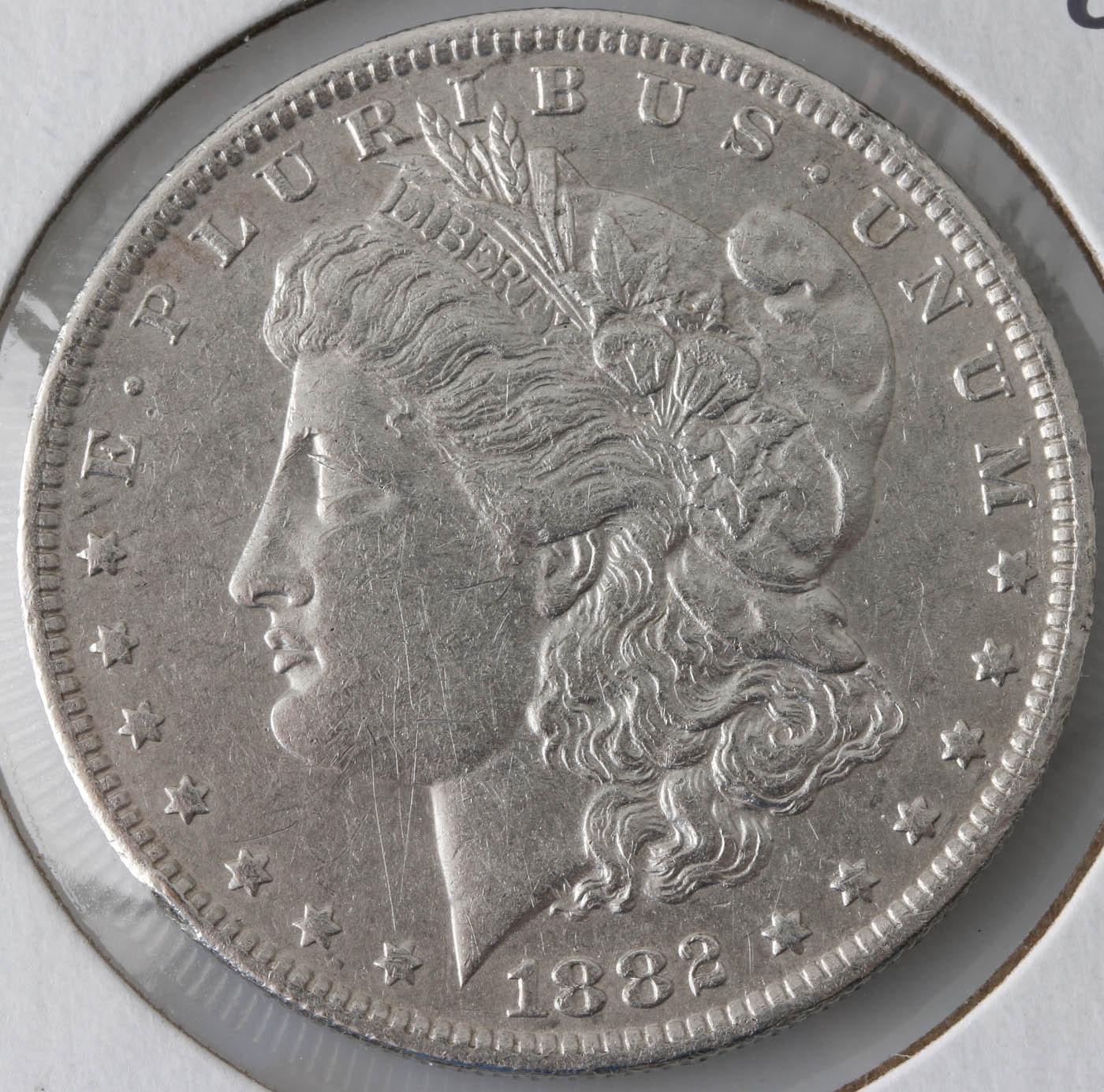 1882 O Silver Morgan Dollar