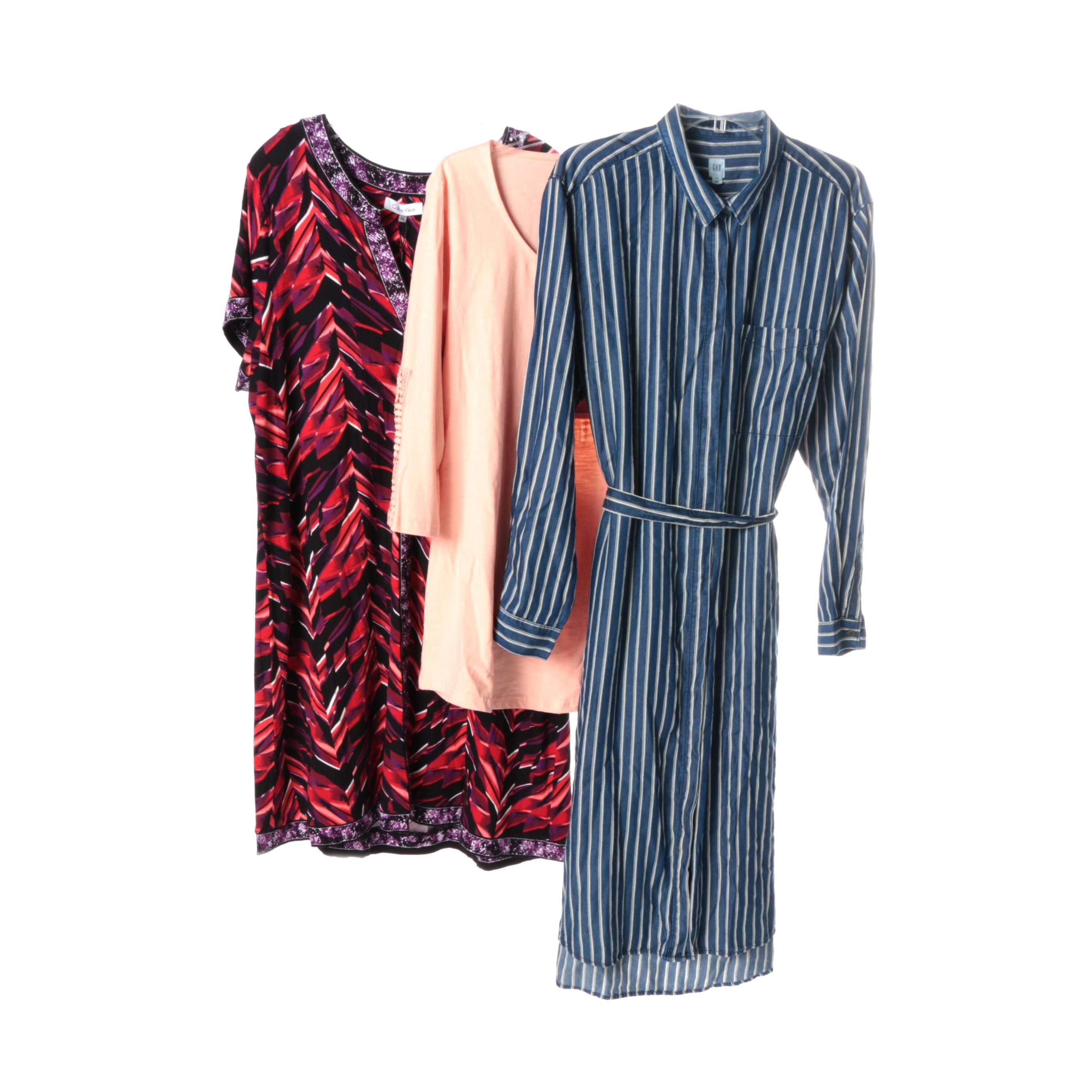 Women's Casual Clothing Including Calvin Klein and Gap