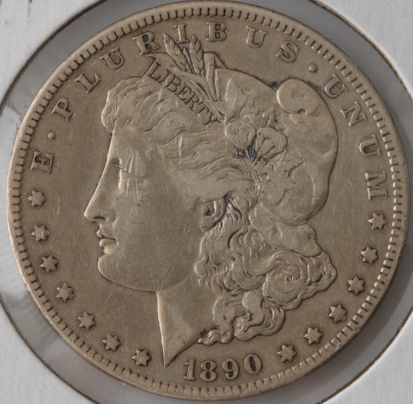 1890 Carson City Silver Morgan Dollar