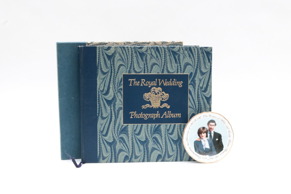 The Royal Wedding of Prince Charles and Princess Diana Memorablilia