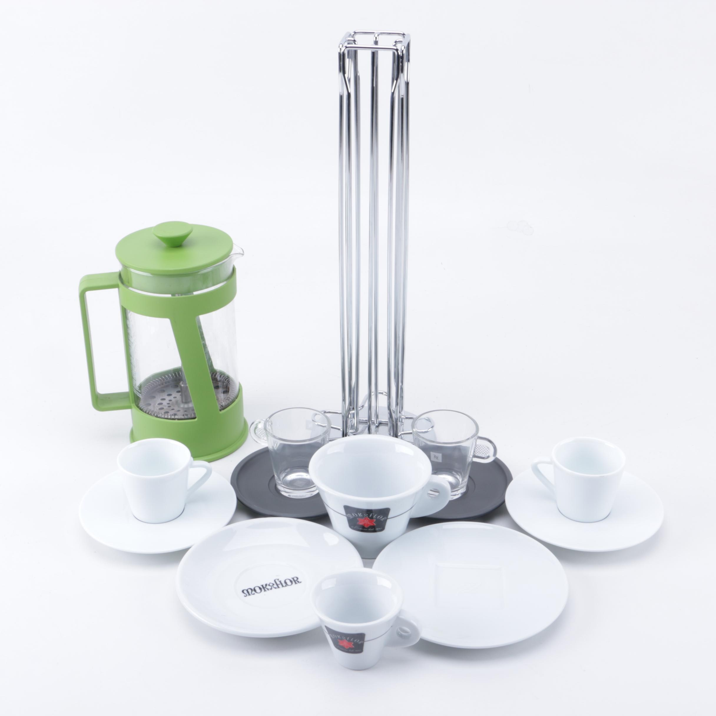 Bodum French Press Coffee Maker and Coffee Accessories