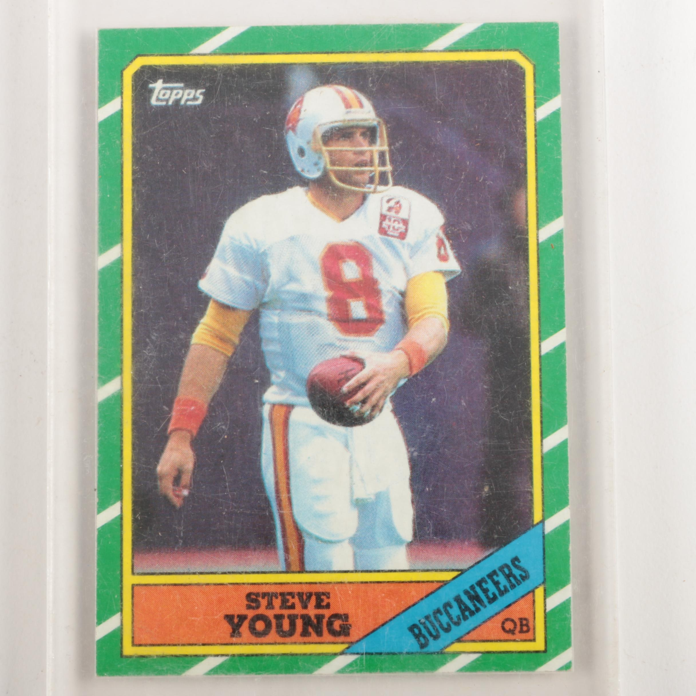 1986 Topps 374 Steve Young Football Card