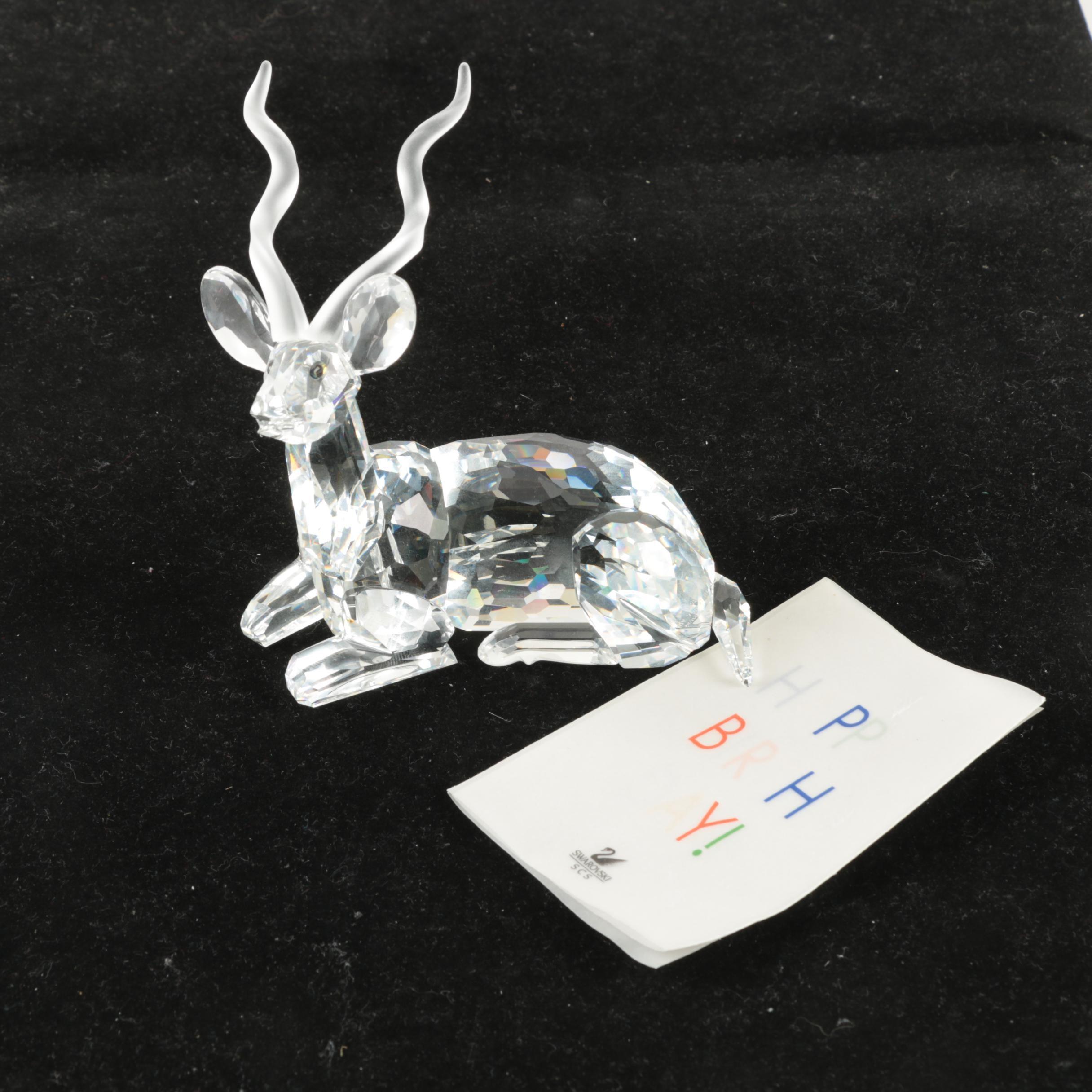 """Swarovski """"Kudo"""" Figurine"""