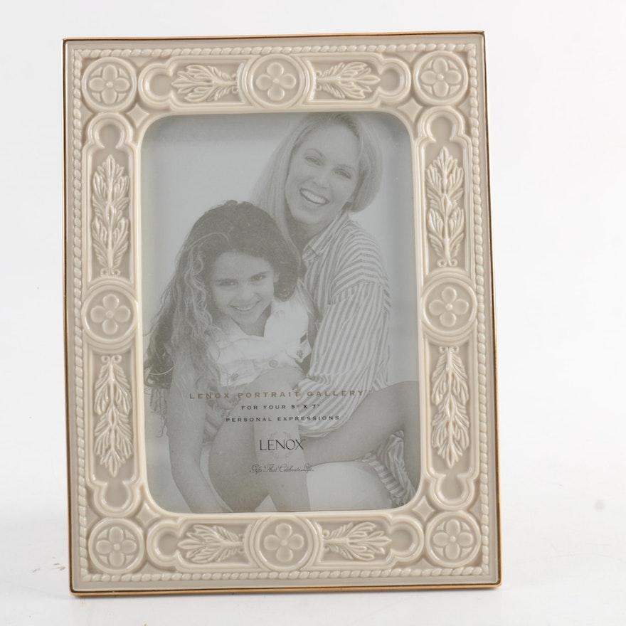 Lenox Porcelain Picture Frame : EBTH