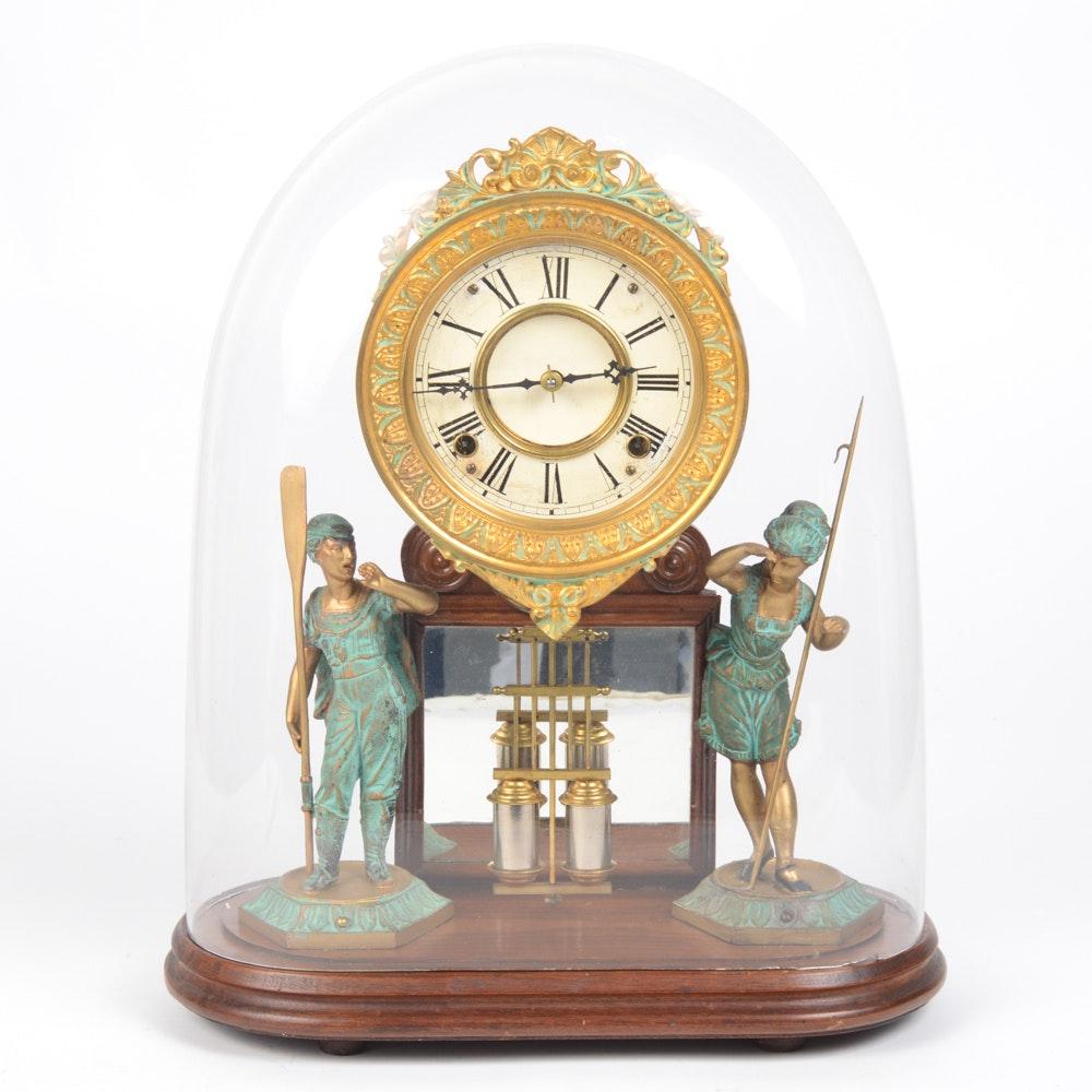 "Ansonia ""Crystal Palace"" Mantel Clock"
