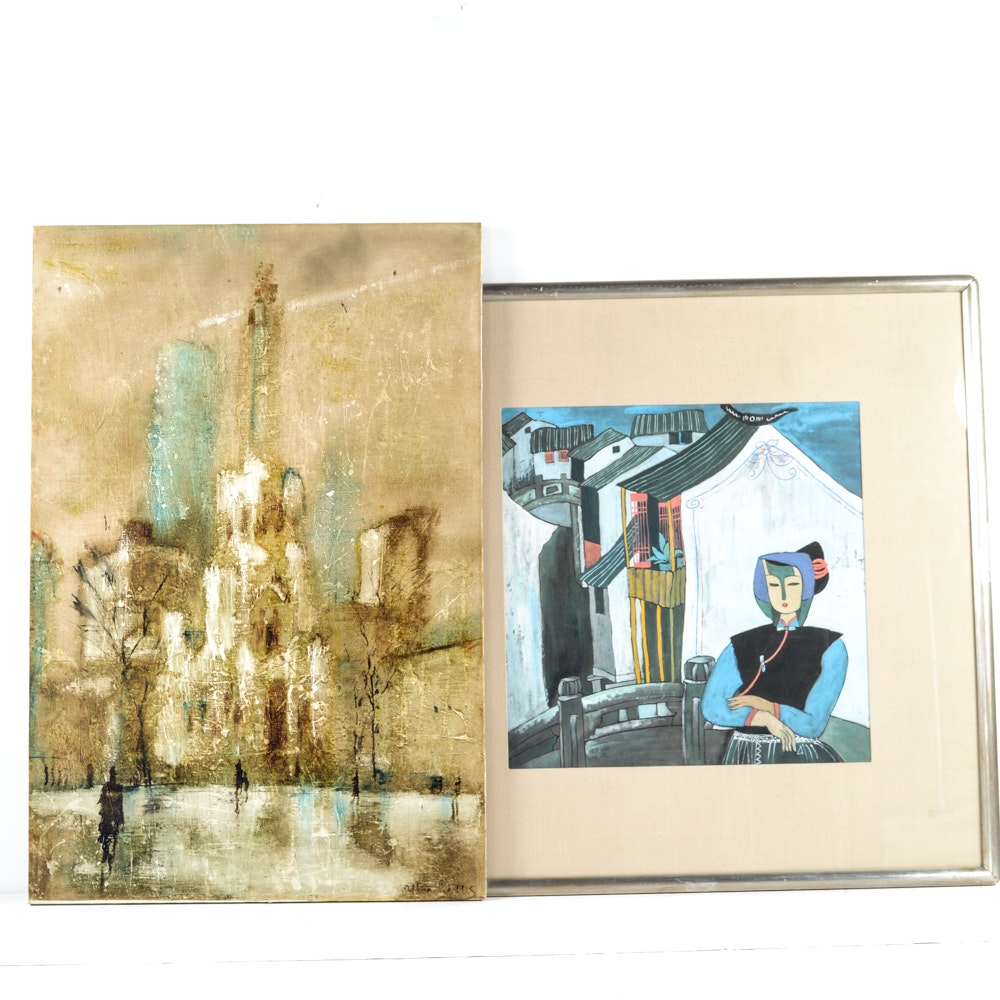 Cityscape Artworks Pairing