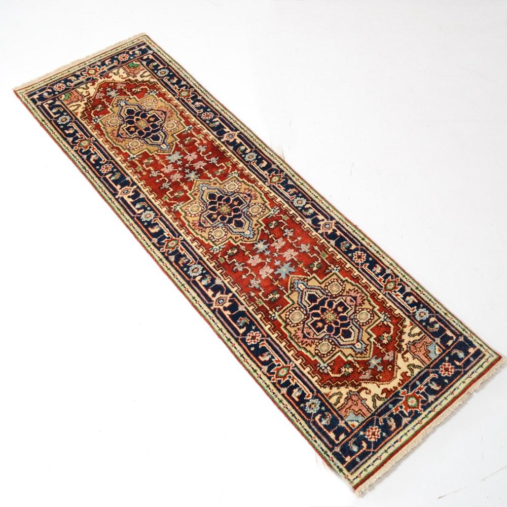 Indo-Persian Heriz Serapi Runner