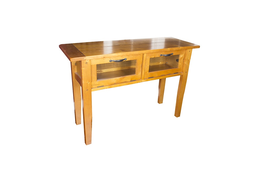 Arts and Crafts Style Console Table