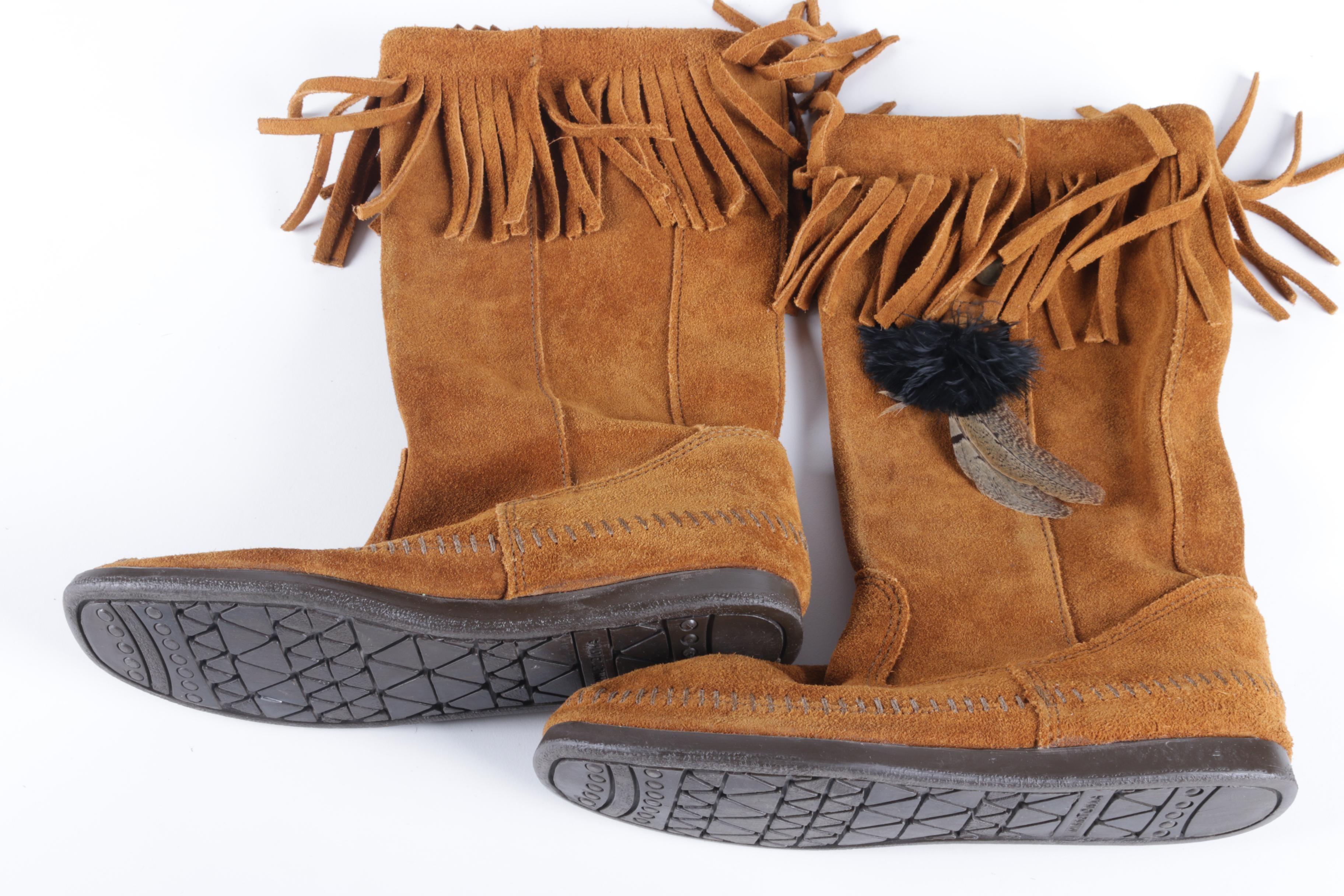 Minnetonka Moccasin Boots