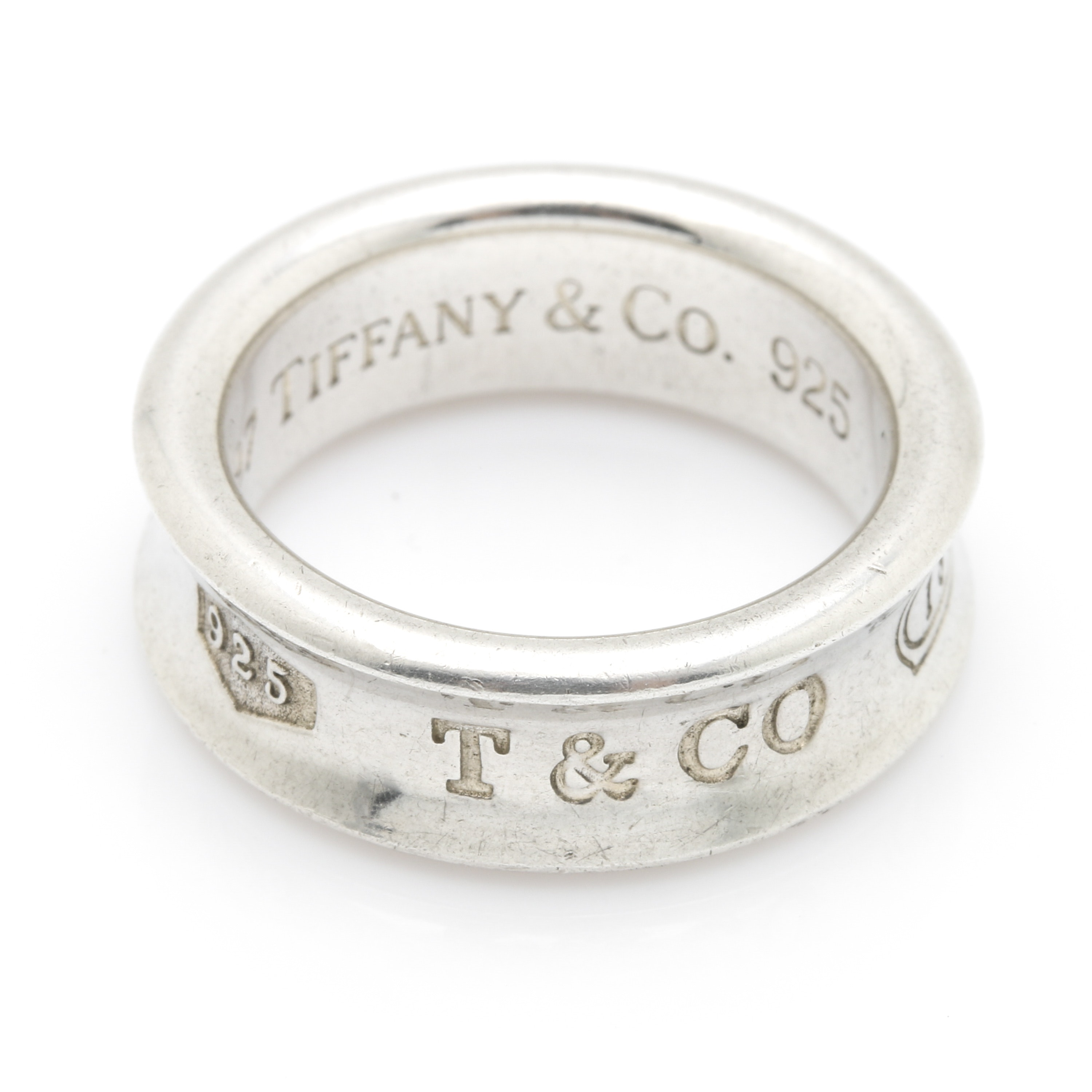 """Tiffany & Co. """"1837 Collection"""" Sterling Silver Ring"""