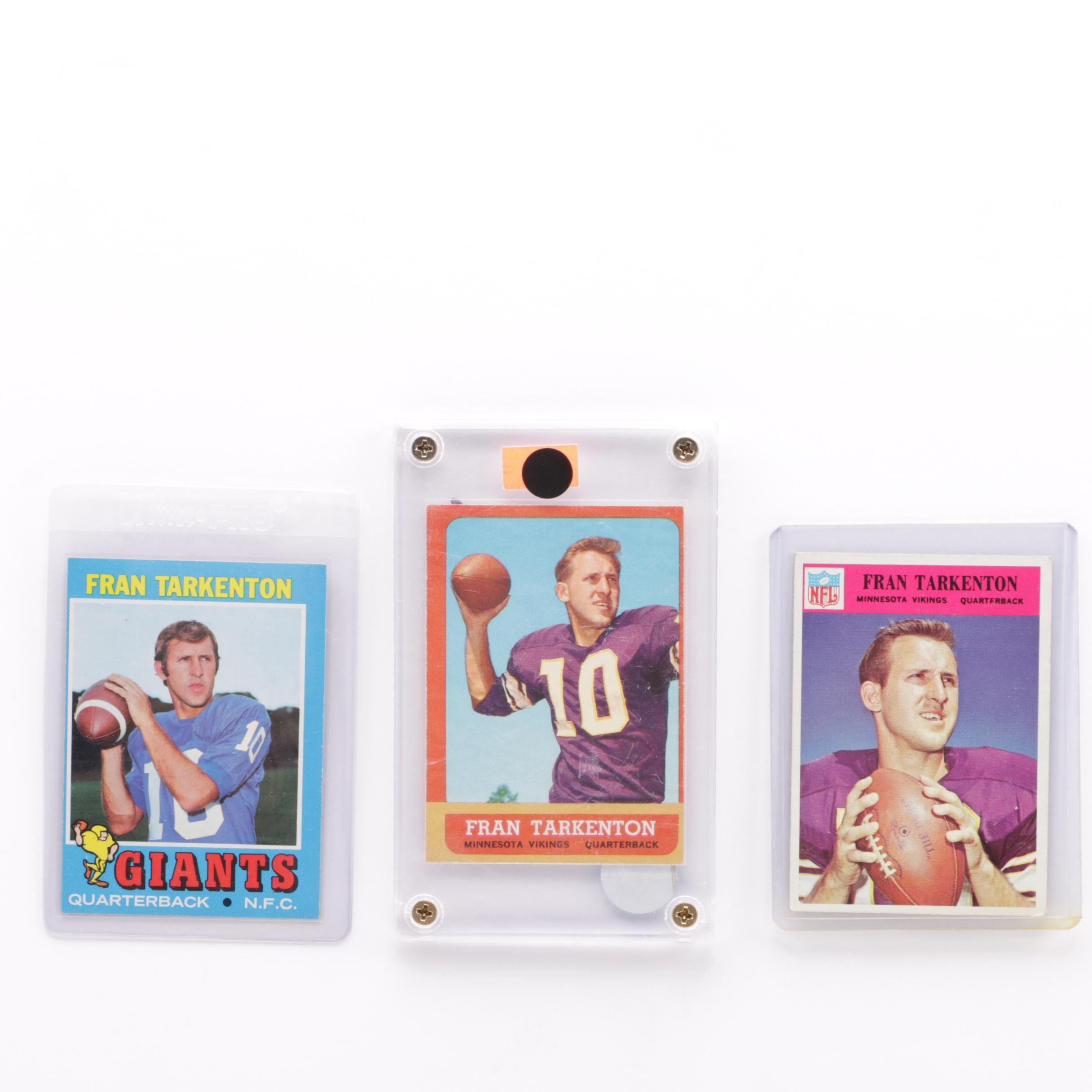 Fran Tarkenton Football Cards