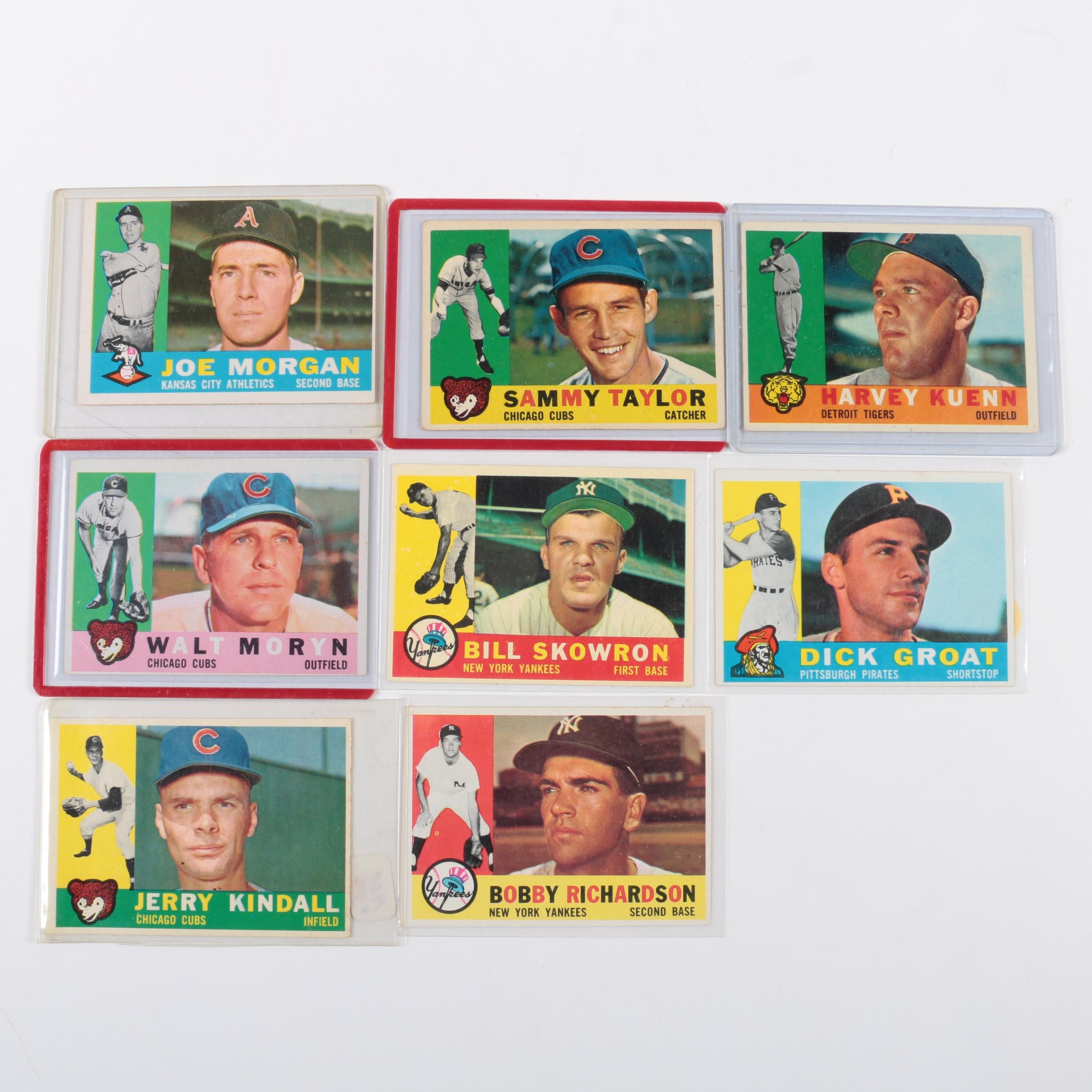 Collection of 1960 Topps Baseball Cards