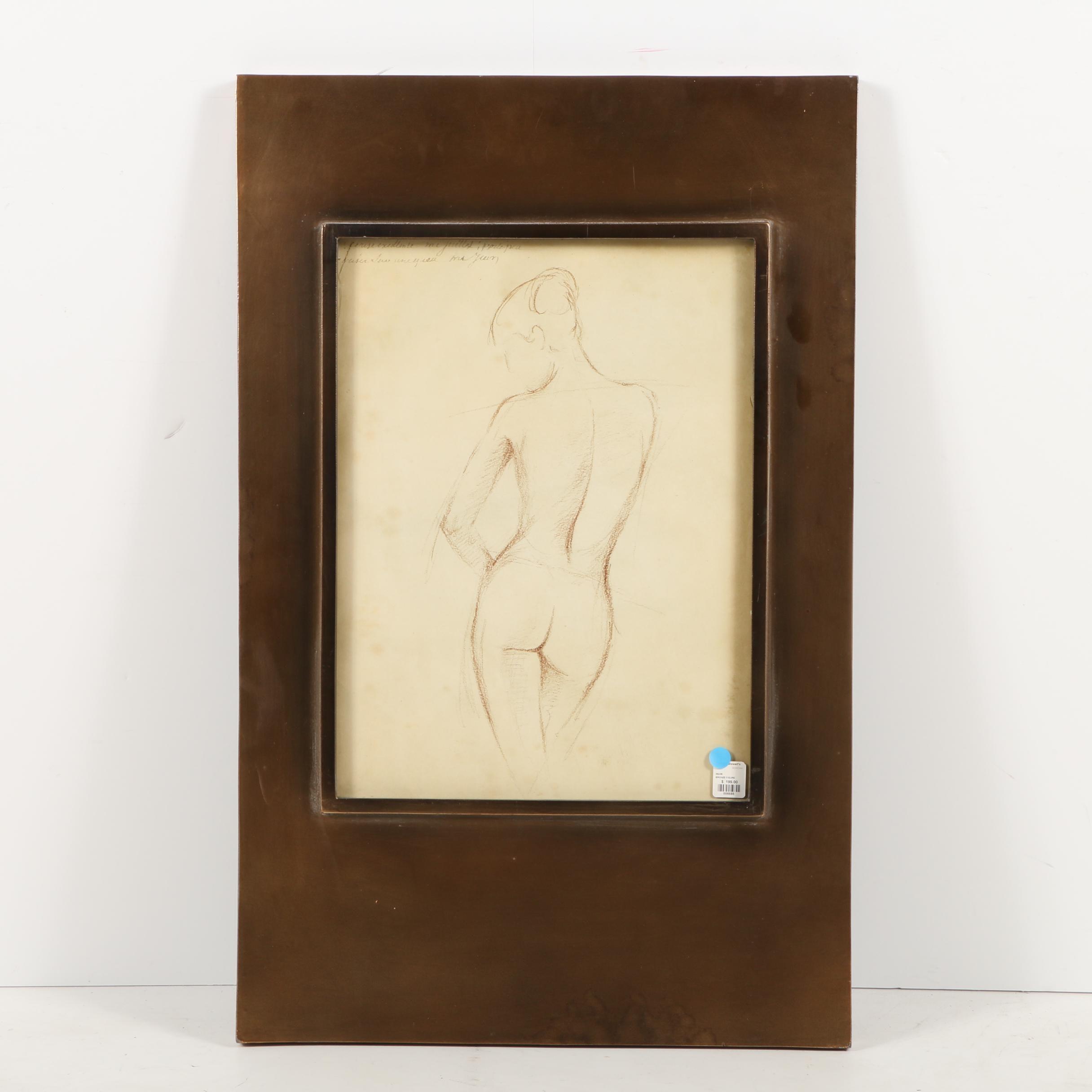 Giclée Print of Female Nude