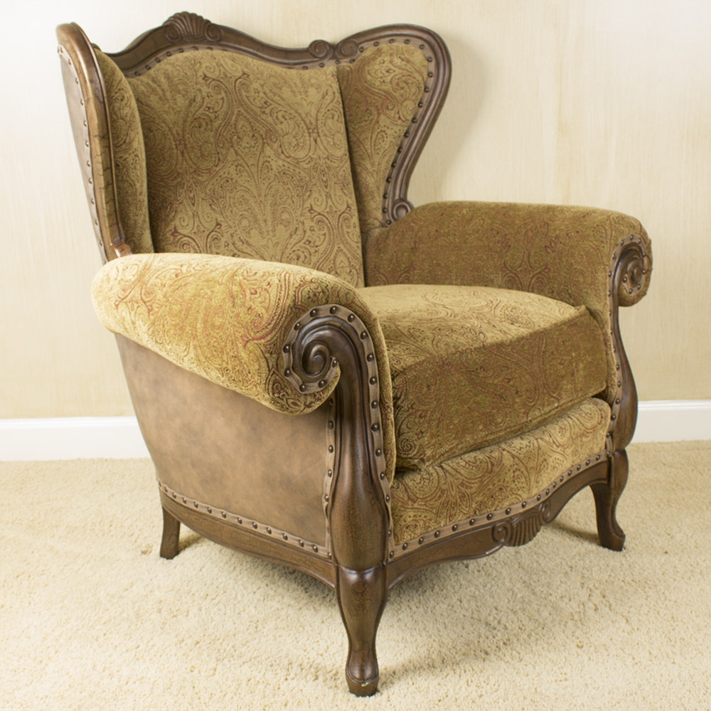 Louis XV Style Accent Chair By Drexel Heritage ...