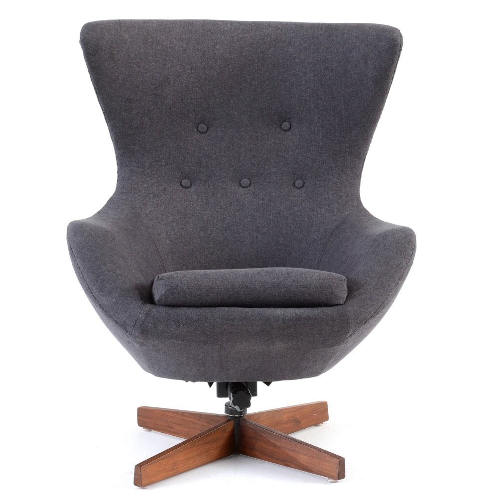 Vintage Mid Century Modern Egg Chair