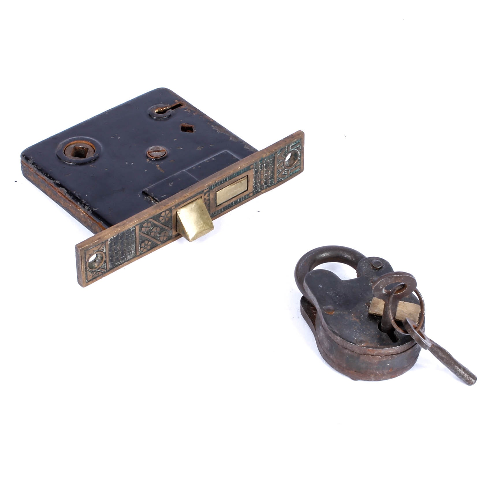 Vintage Lock and Hardware