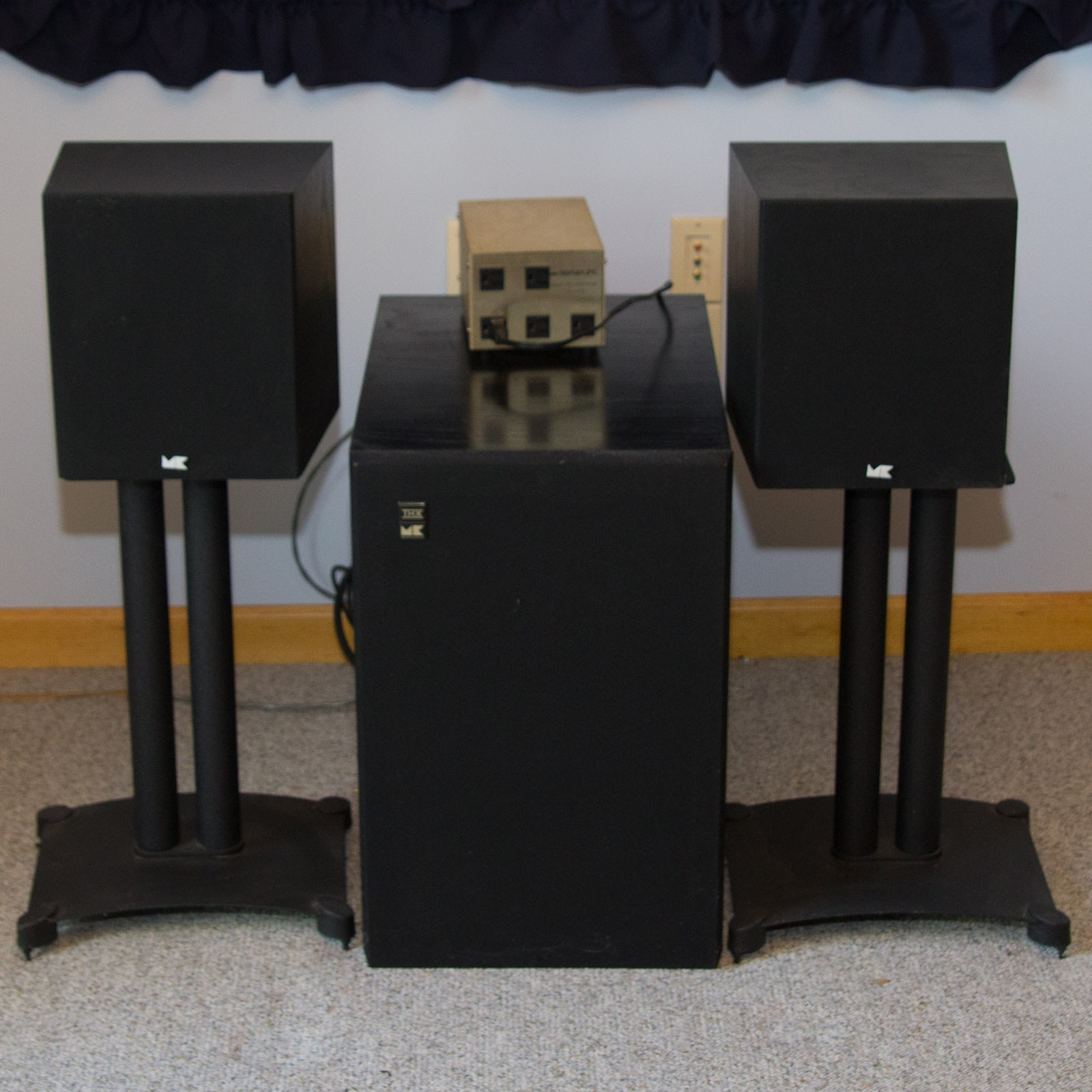 M&K Sound Speakers and Stands