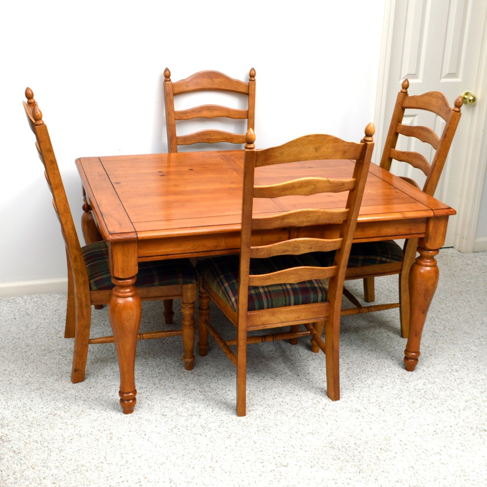 Farmhouse style dining set by american signature furniture for Farmhouse style dining set