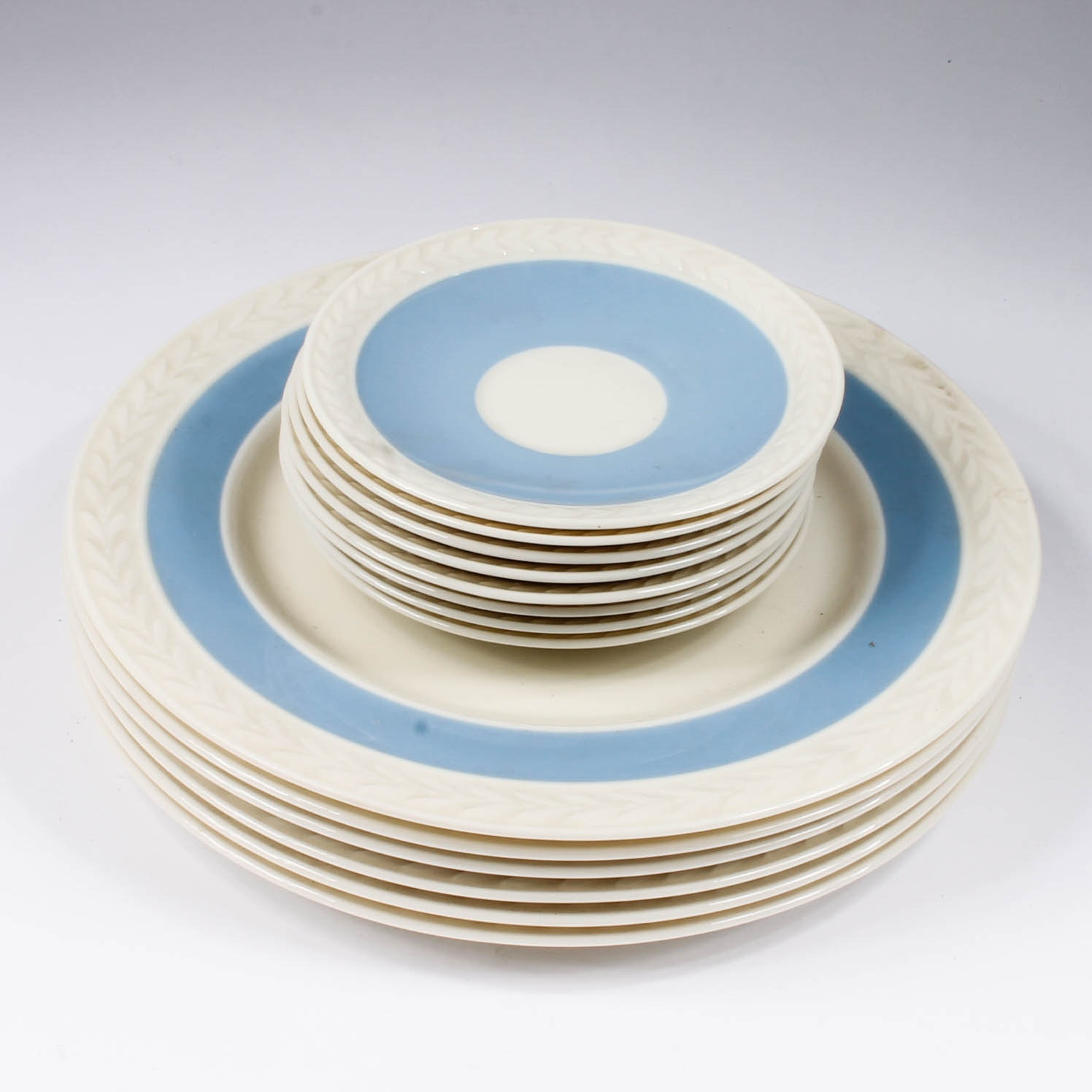 Collection of Blue and White Lenox Plates