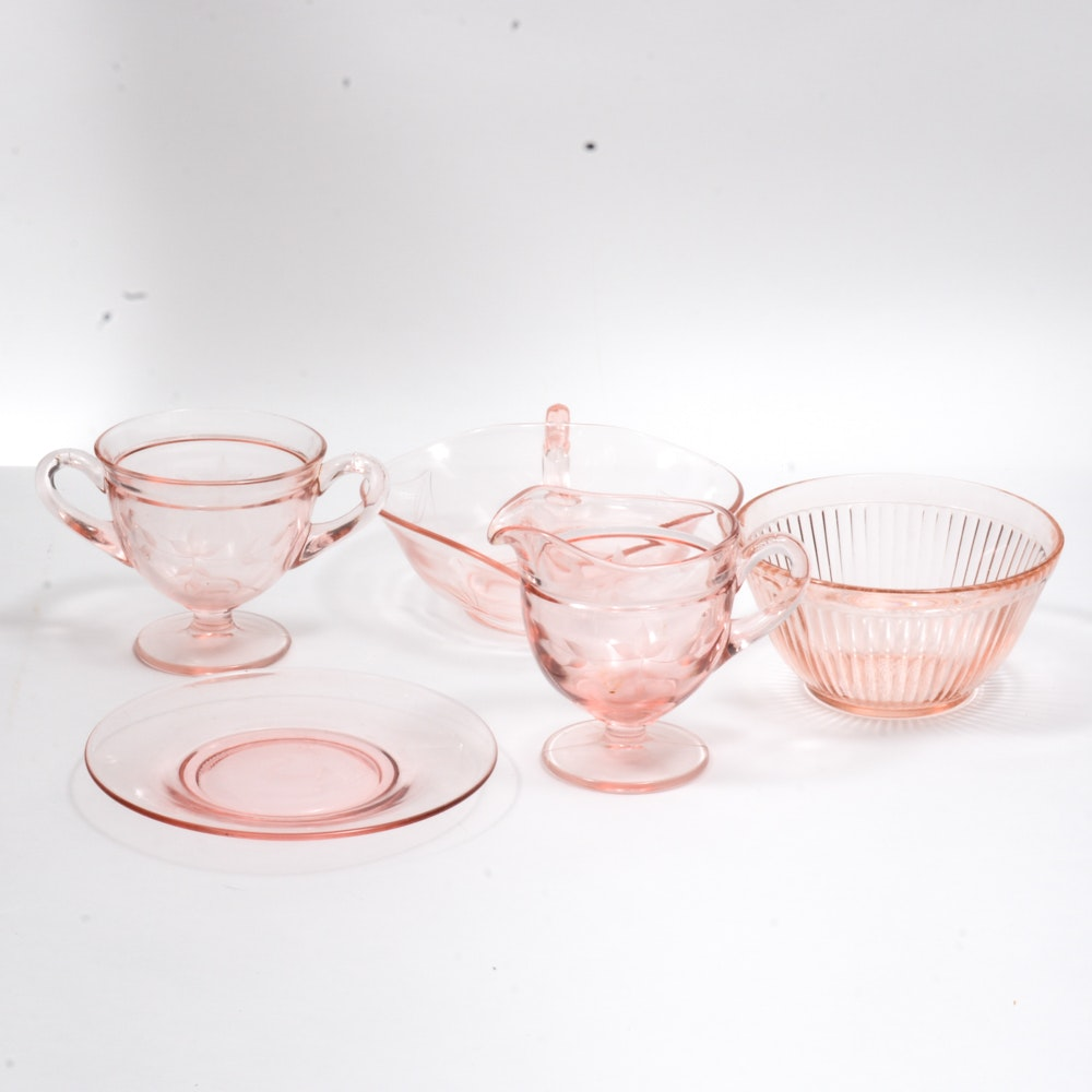 Vintage Depression Glassware