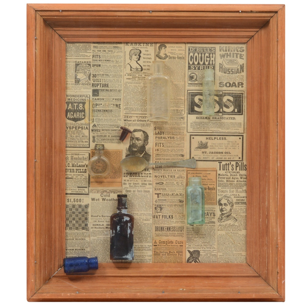 Framed Apothecary Collection