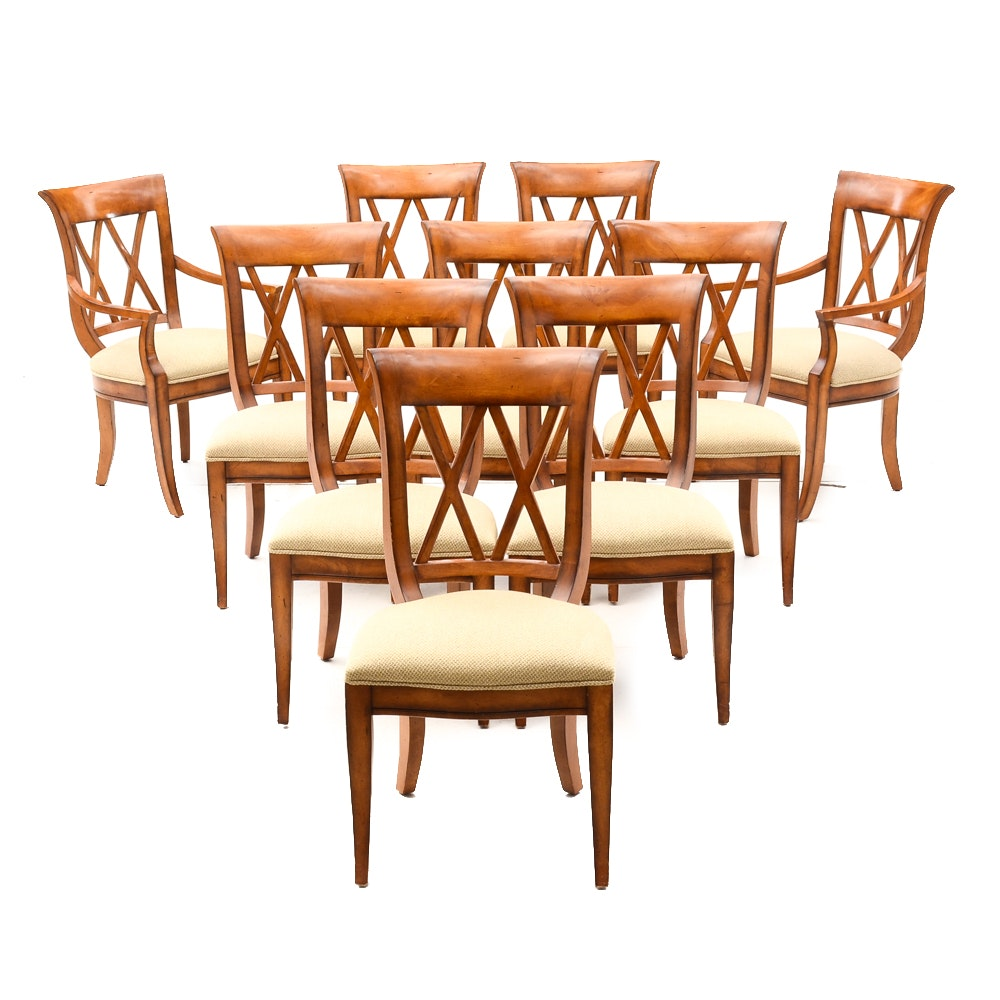 Regency Style Dining Room Chairs