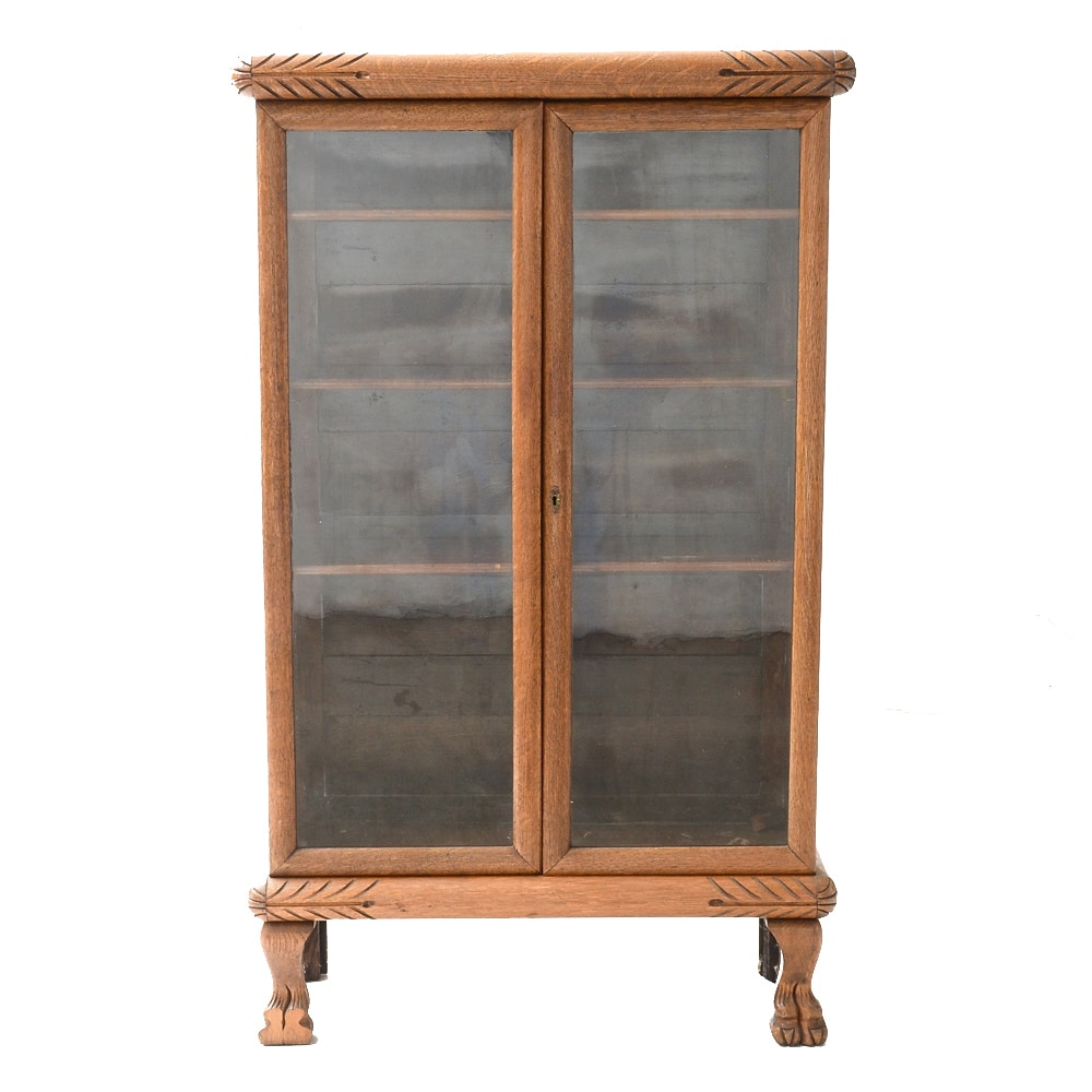 National Furniture Co. Glass Display Case