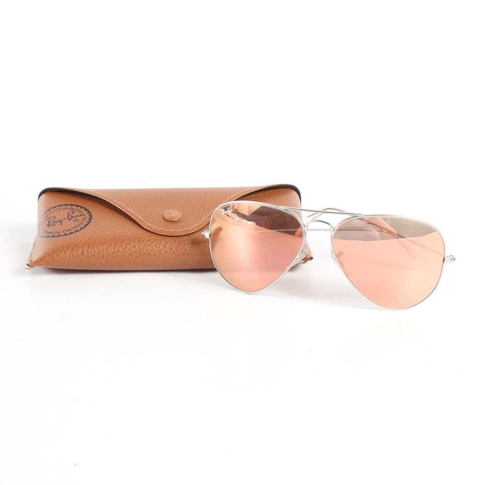 Ray-Ban Aviator Sunglasses and Case