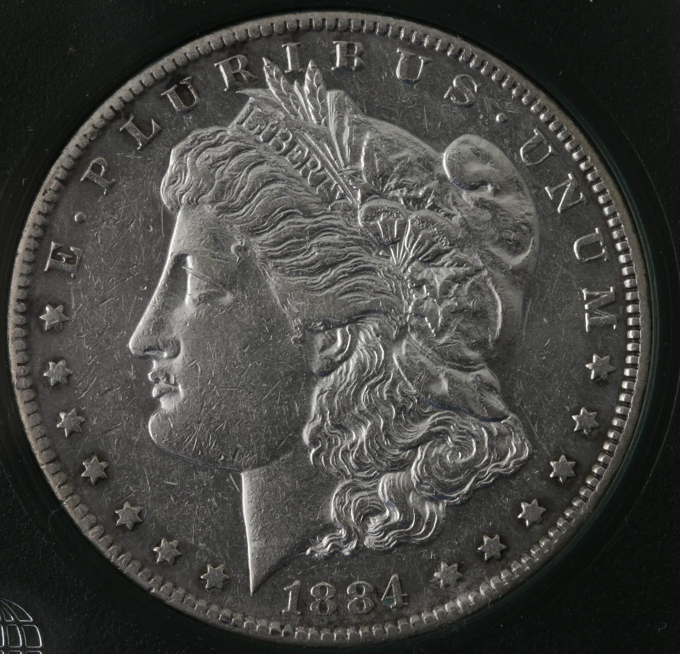 1884 S Silver Morgan Dollar