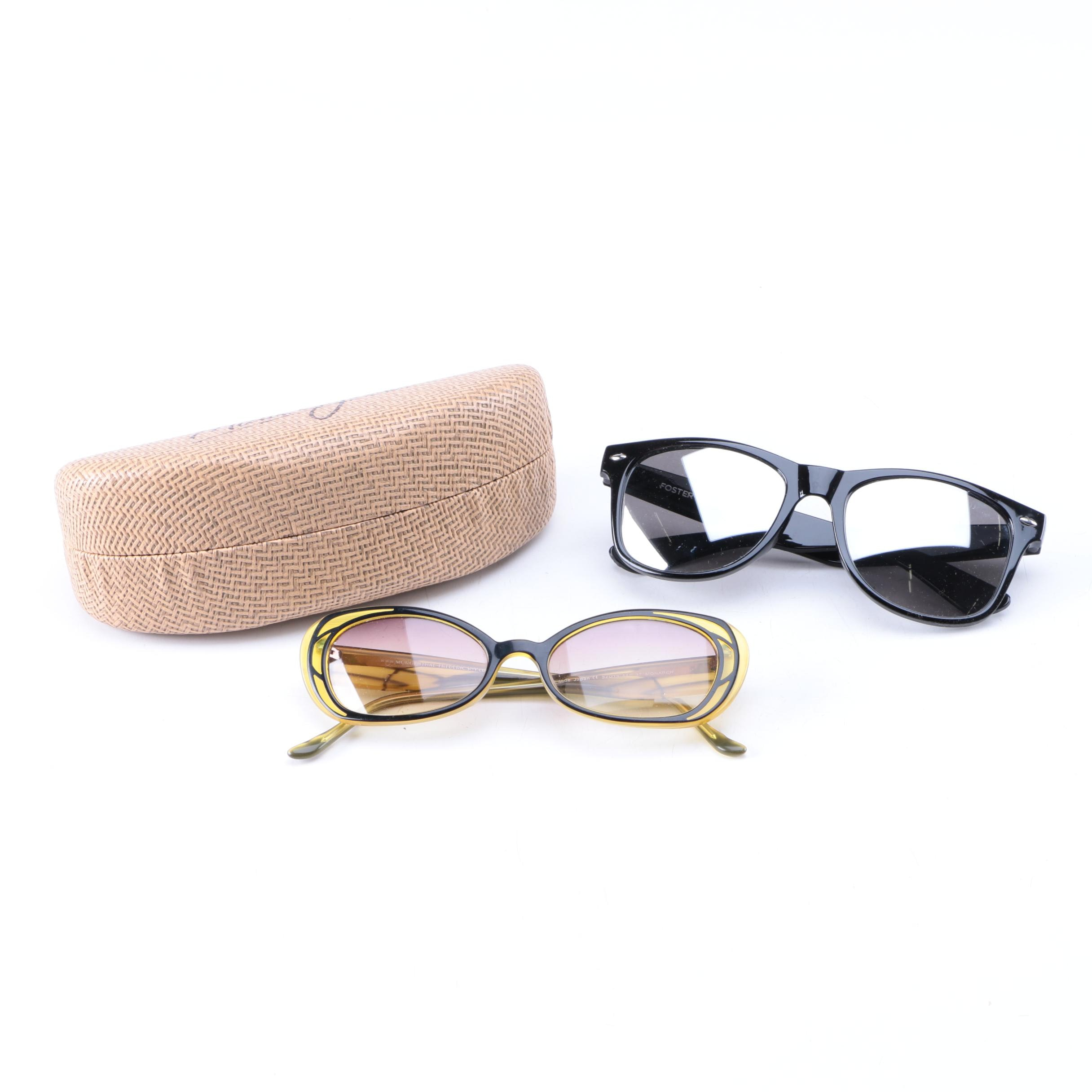Foster Grant and Morgenthal Fredericks NYC Sunglasses