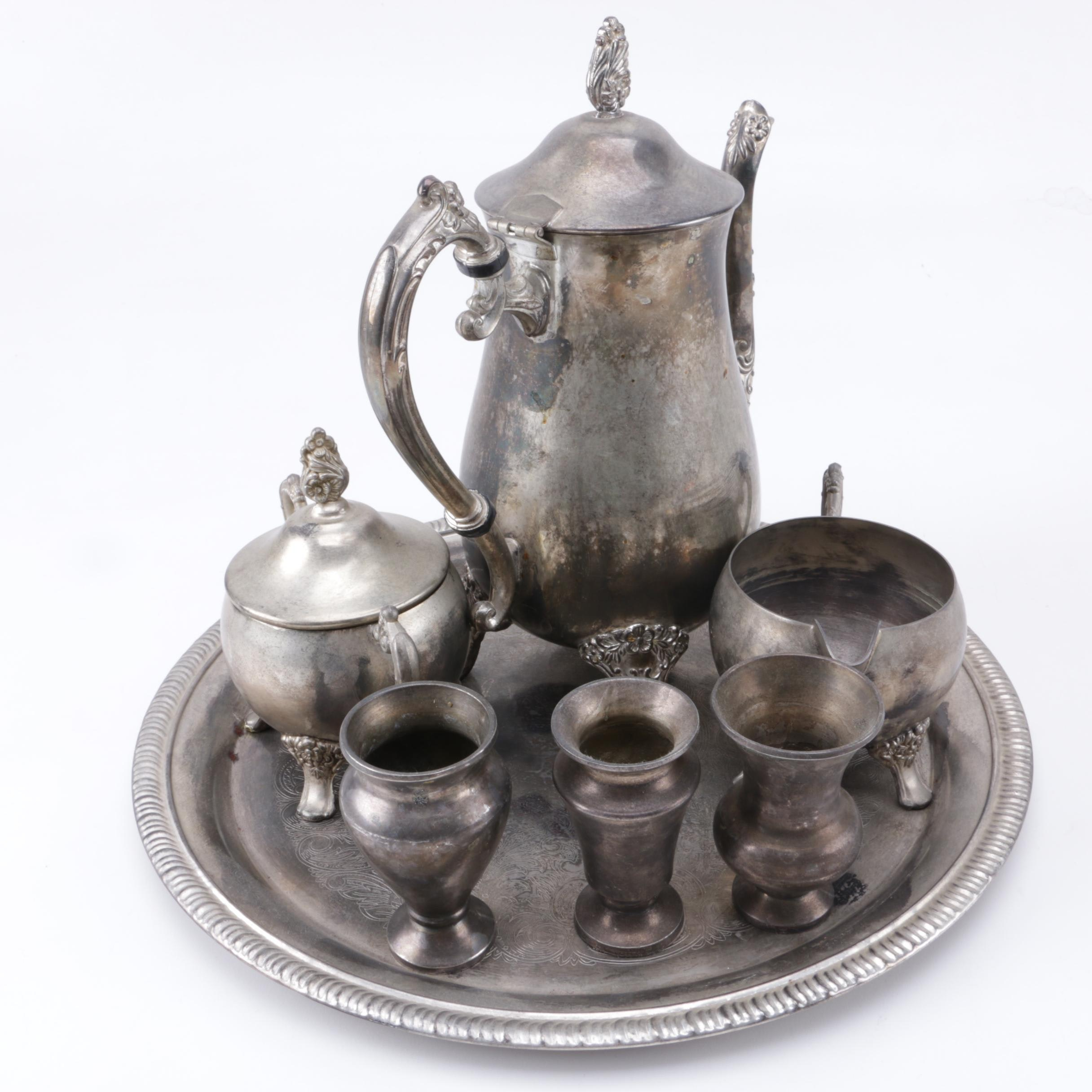 Silver-Plated Coffee Service