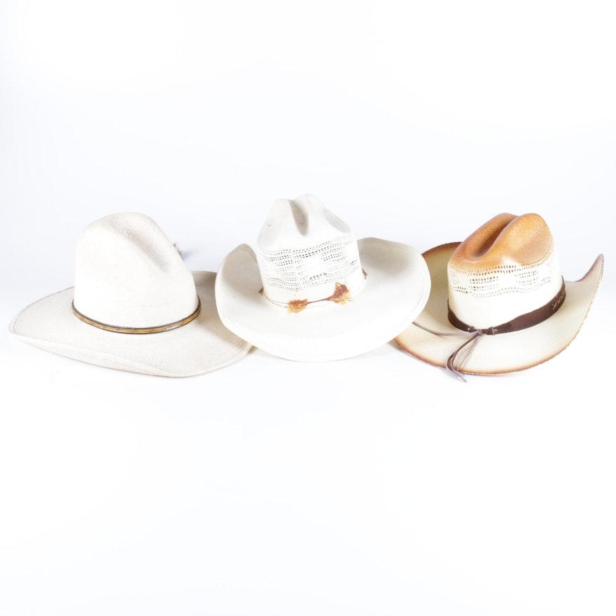 ba102a0d7828d Men s Straw Cowboy Hat Assortment   EBTH