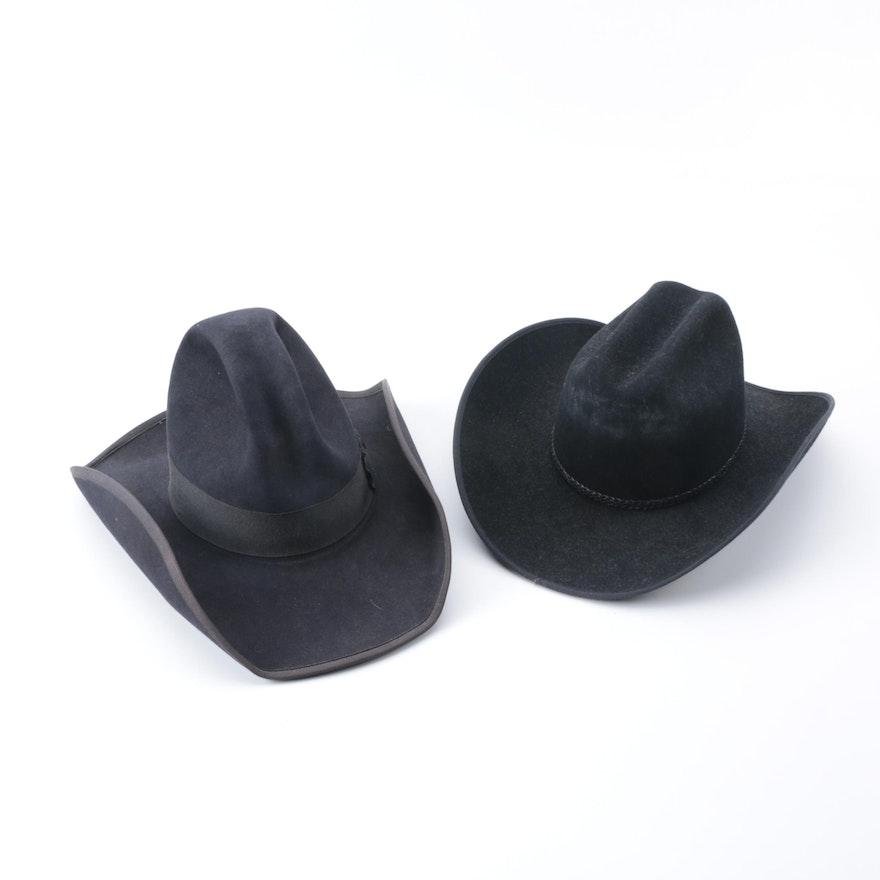d0f3f1bfcfec7 Men s Black Beaver Fur Cowboy Hats   EBTH