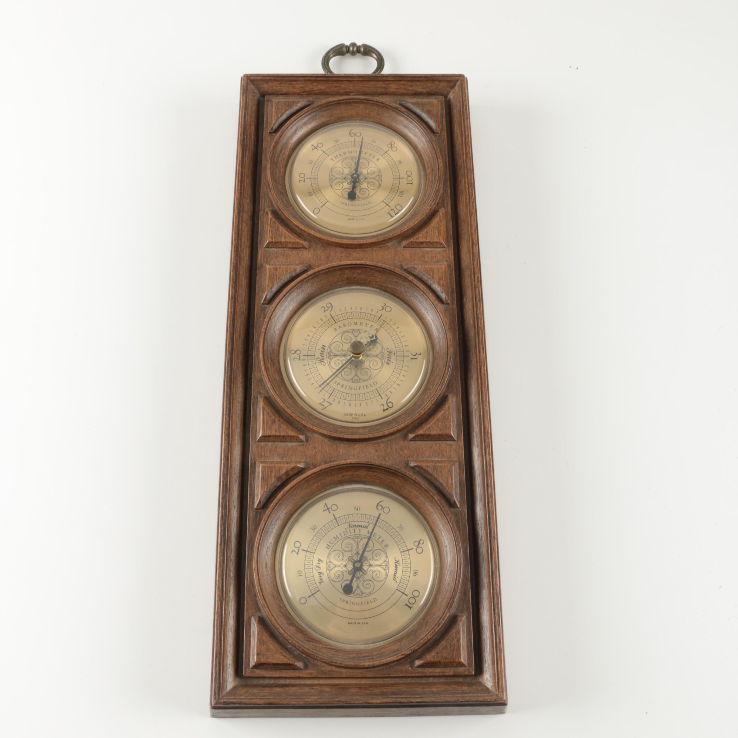 Springfield Indoor Weather Meters