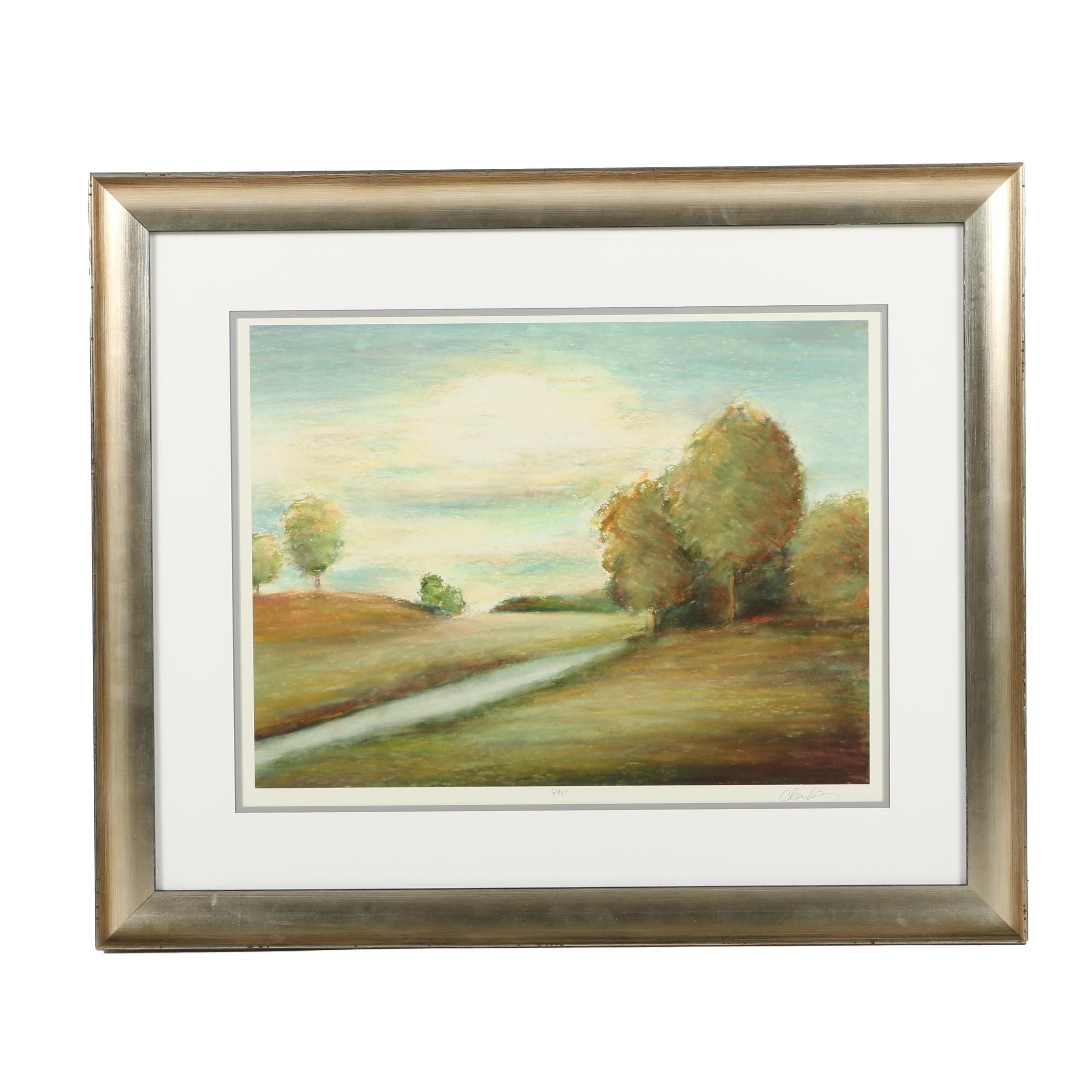 Limited Edition Giclée of a Country Field
