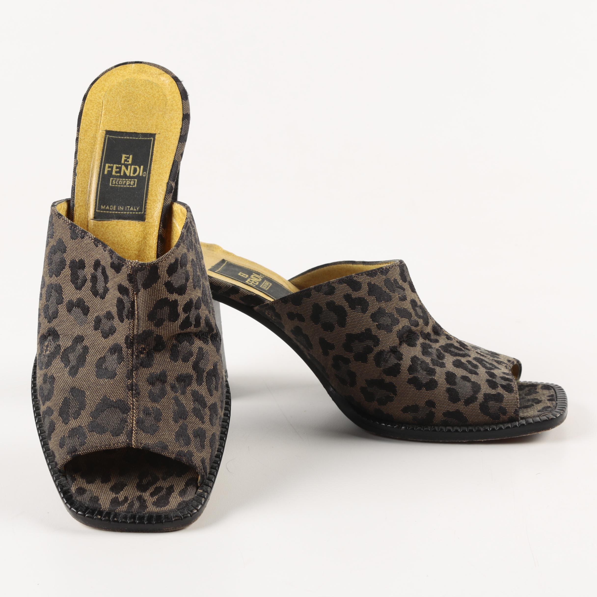 Women's Fendi Mule Sandals