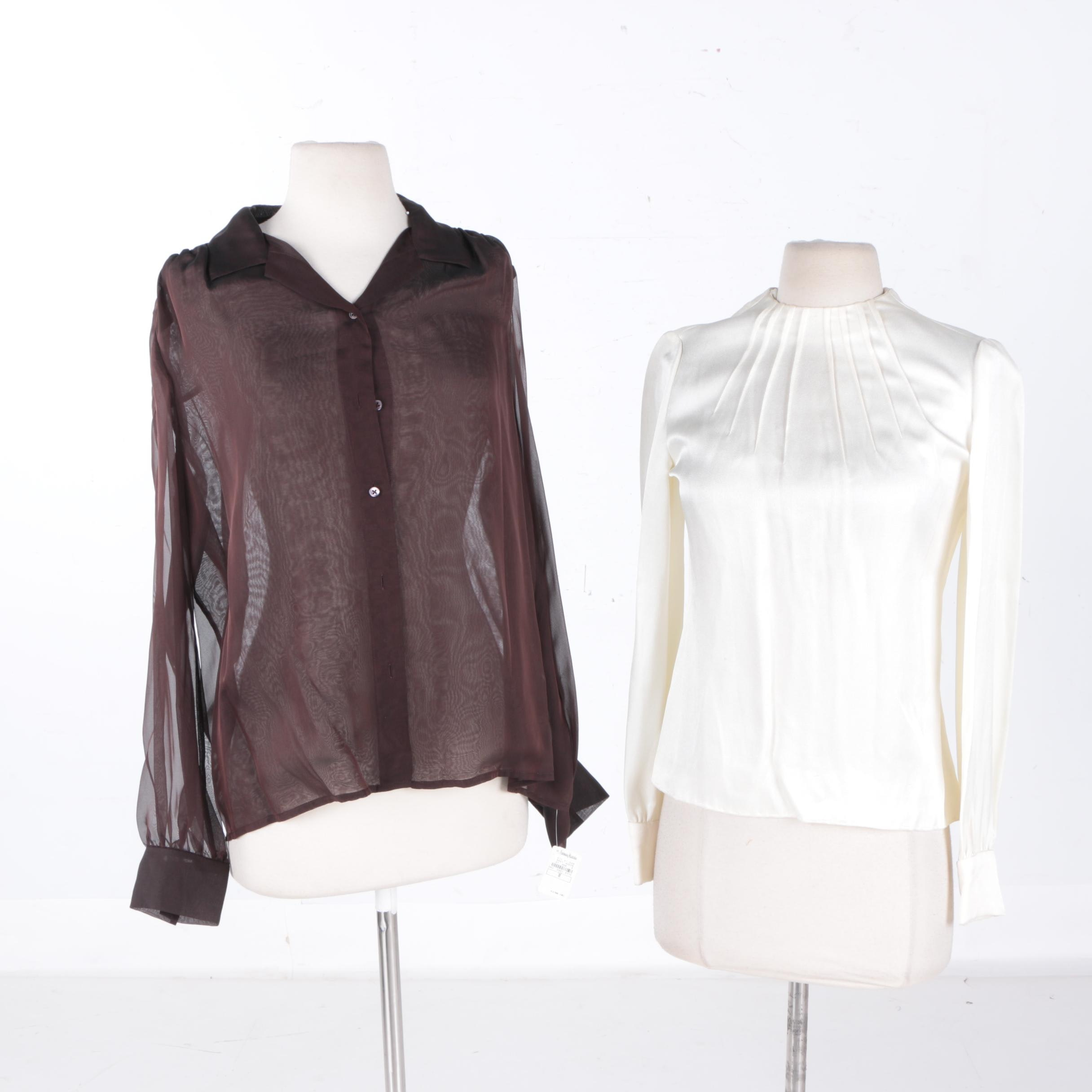 Women's Blouses including DKNY
