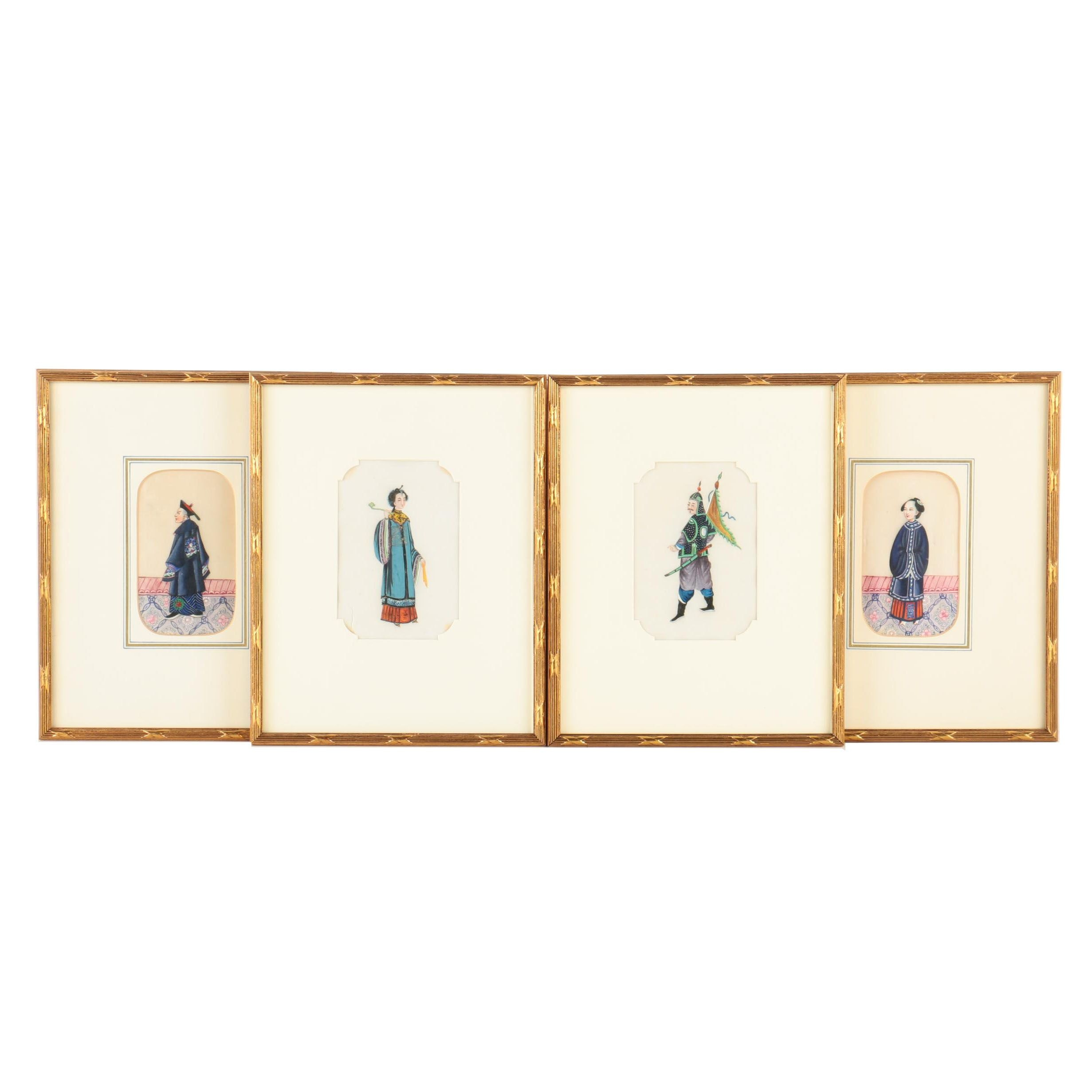 Collection of East Asian Paintings of Figures