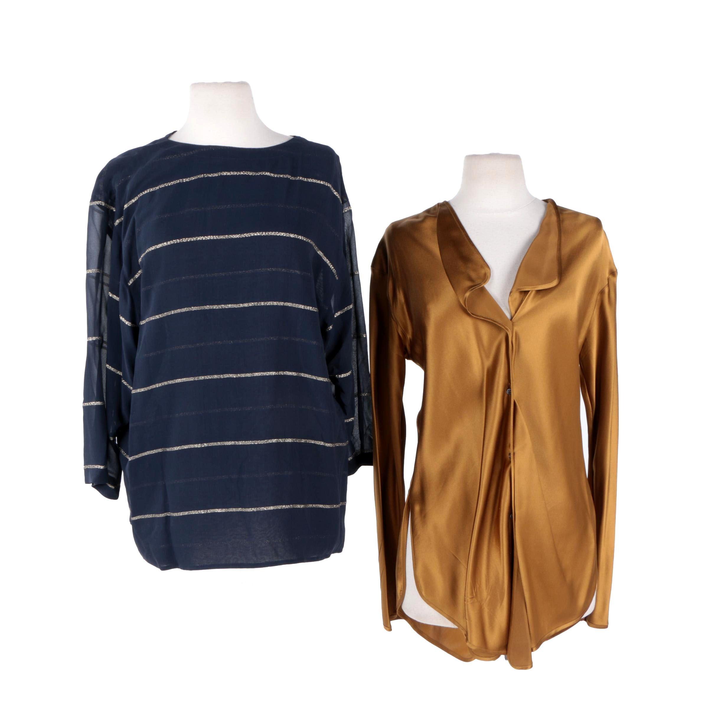 Women's Silk Blouses