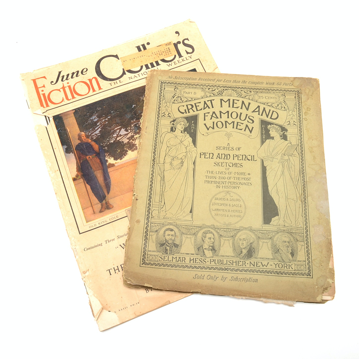 Antique Magazines, Including Collier's