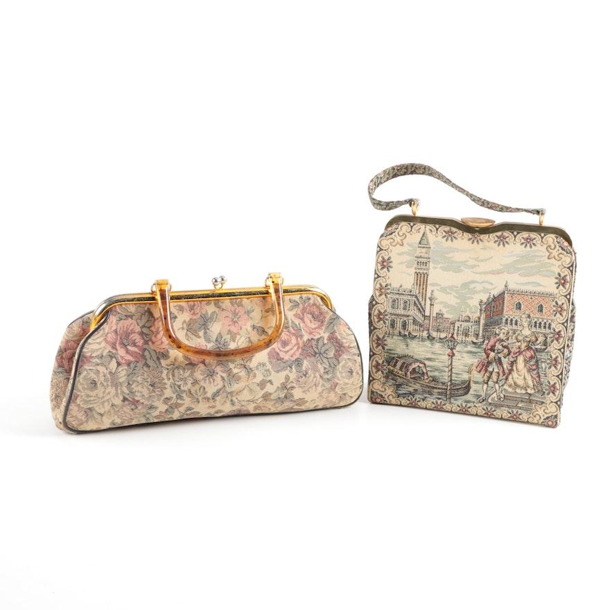 Vintage Tapestry Handbags