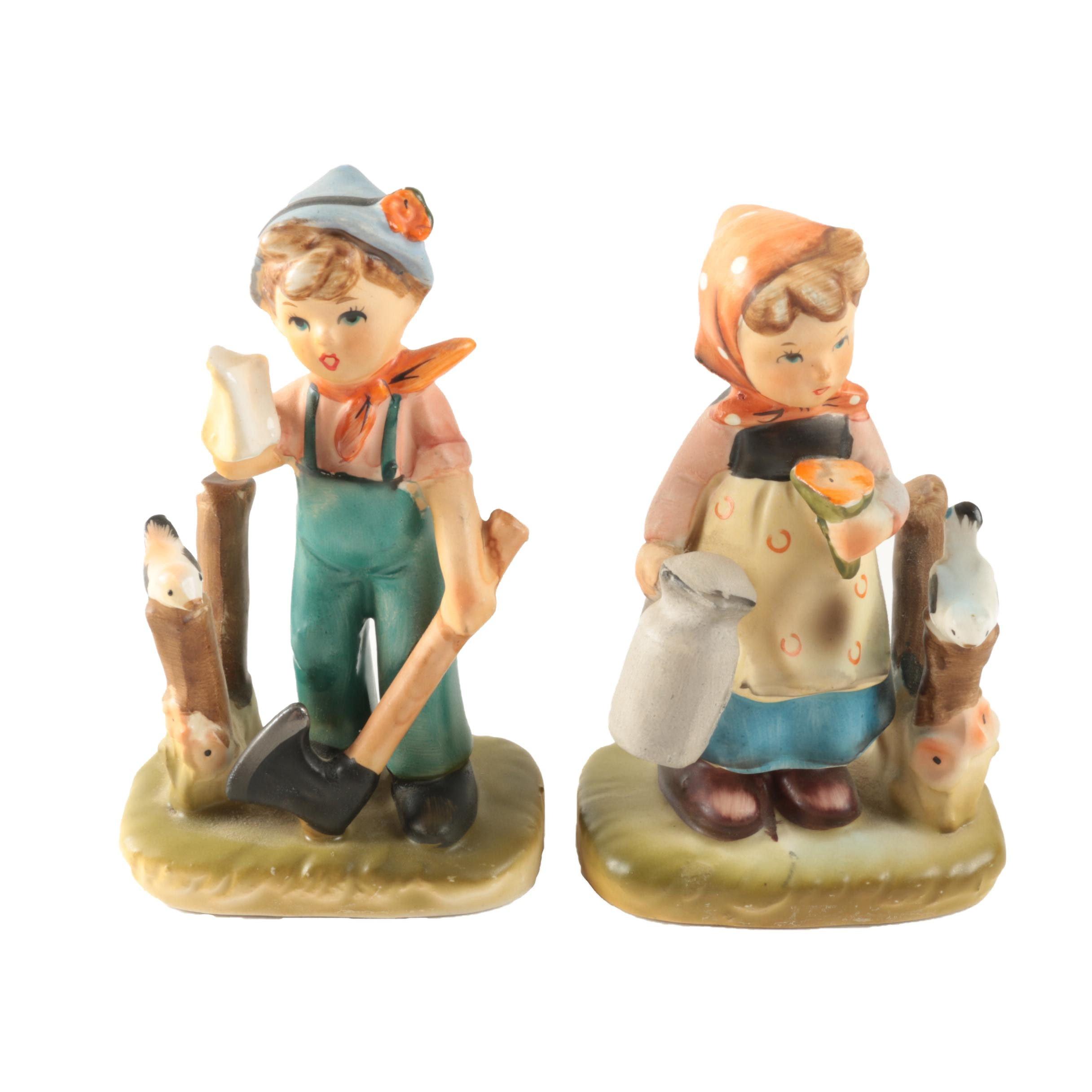 Arnart 5th Avenue Handpainted Figurines