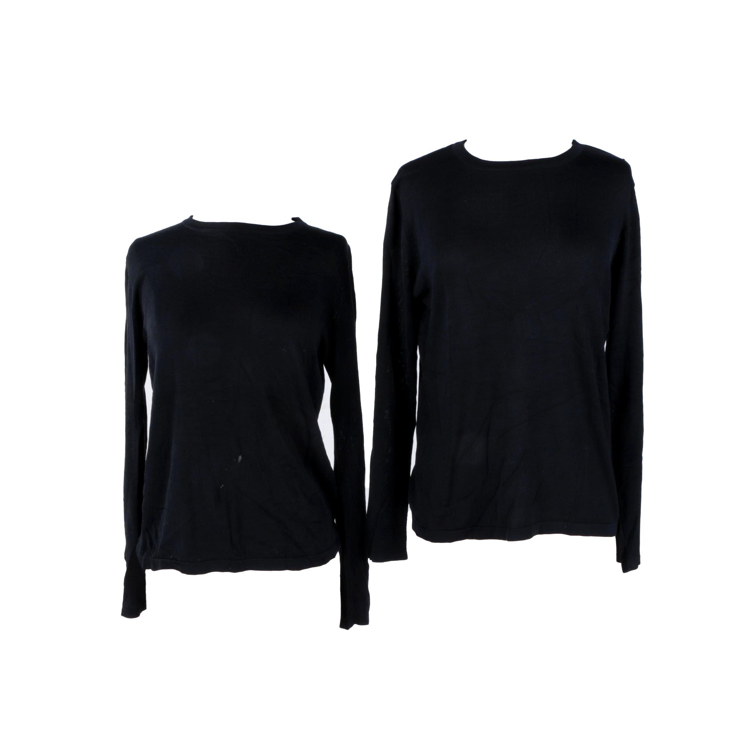 Women's TSE Silk Pullovers
