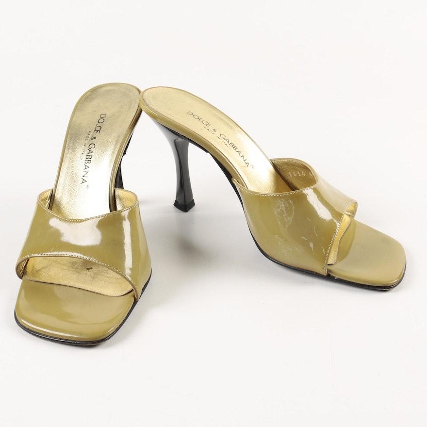 80a03638c82 Women s Dolce   Gabbana Slide Heels   EBTH