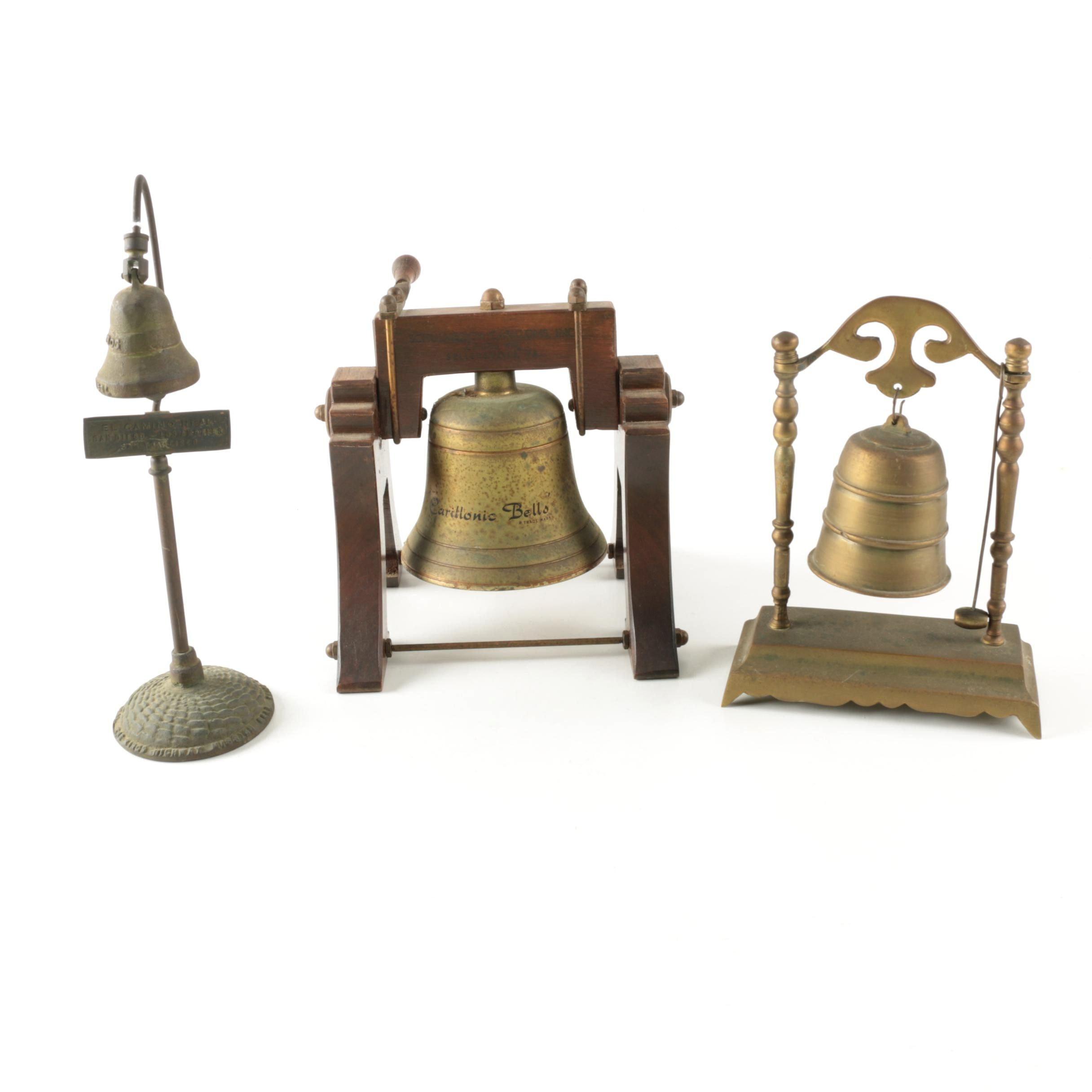 Antique and Vintage Metal Hanging Bells