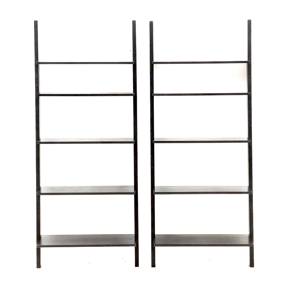 Pottery Barn Style Leaning Shelves
