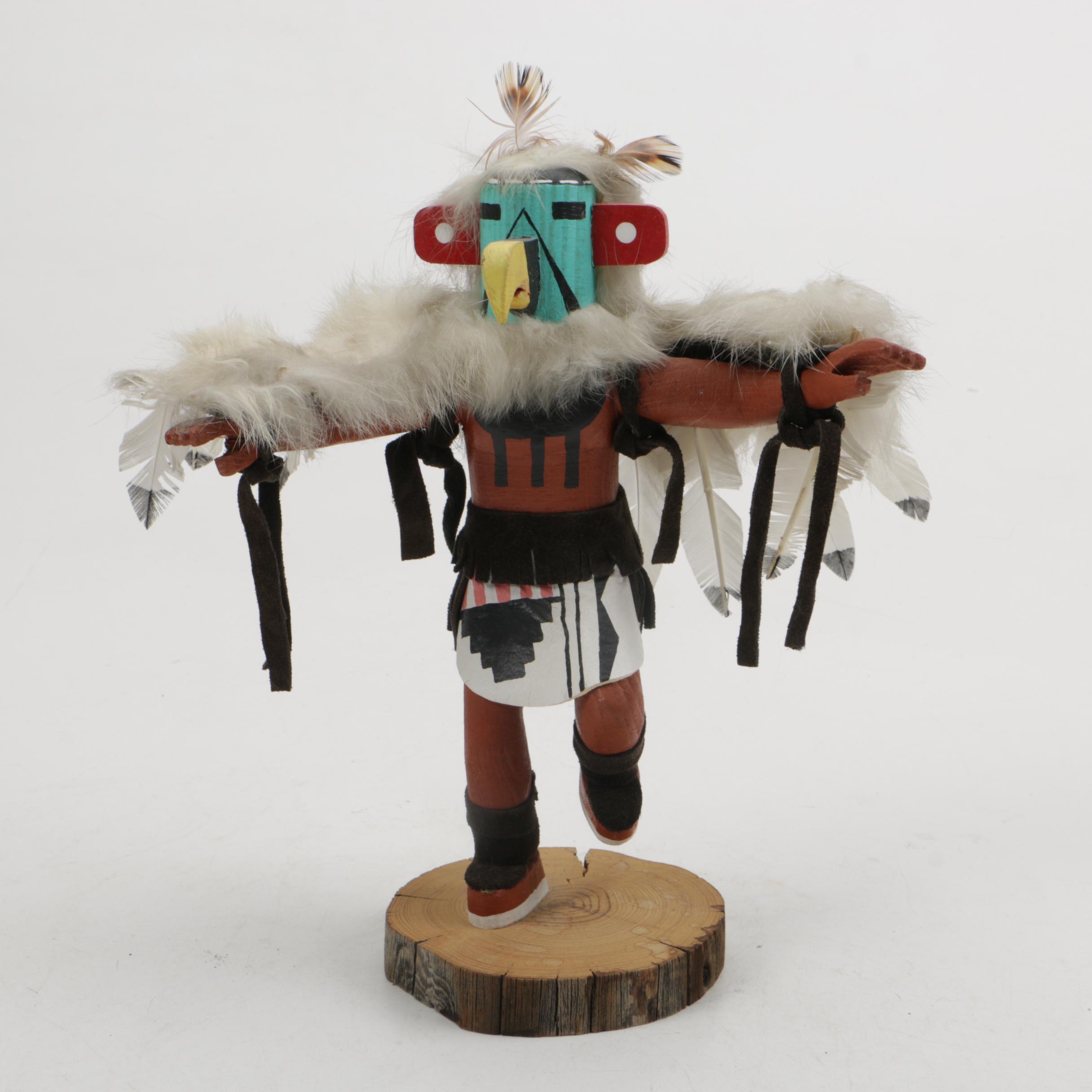 "Native American Kachina ""Eagle"" Doll"
