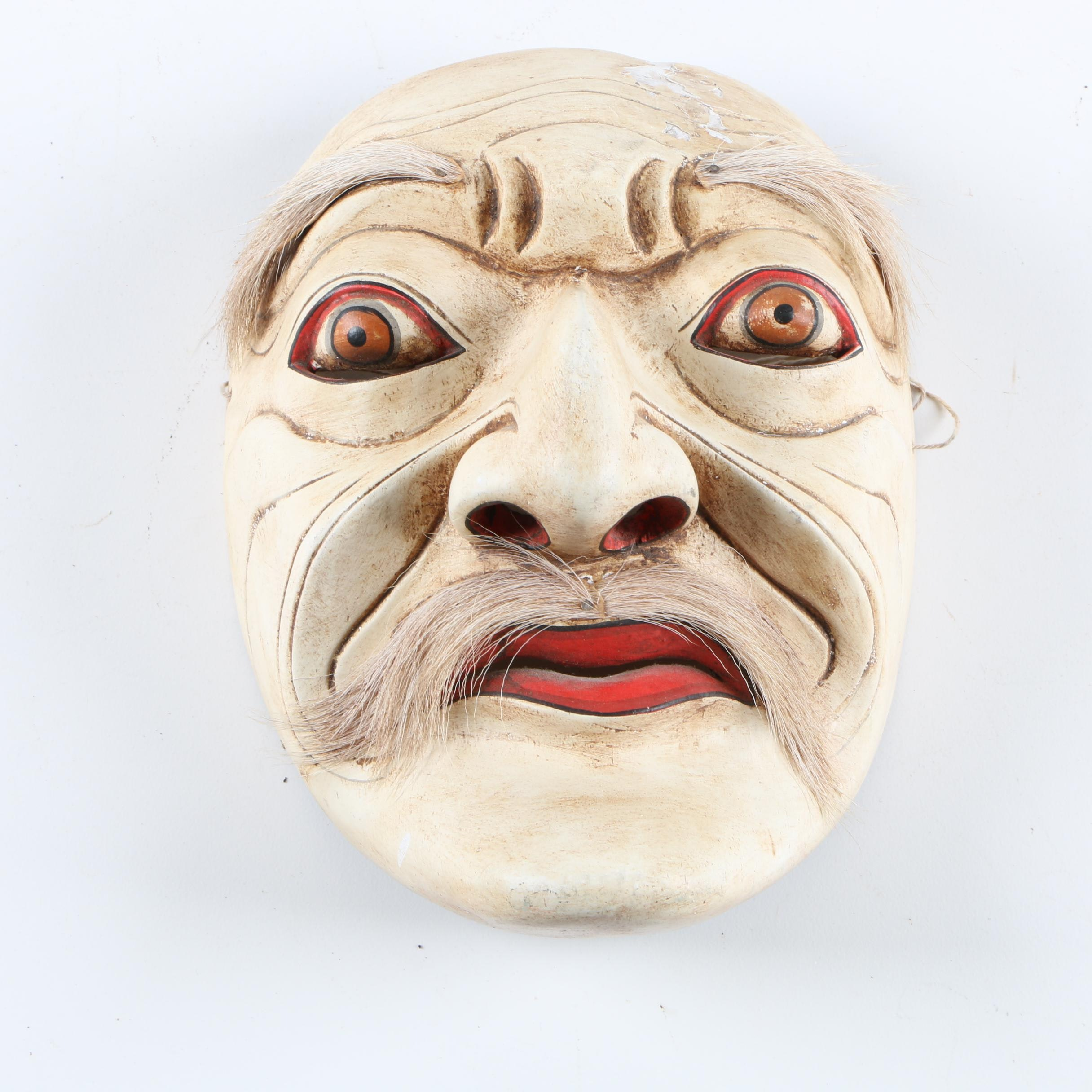 Indonesian Mask of an Old Man