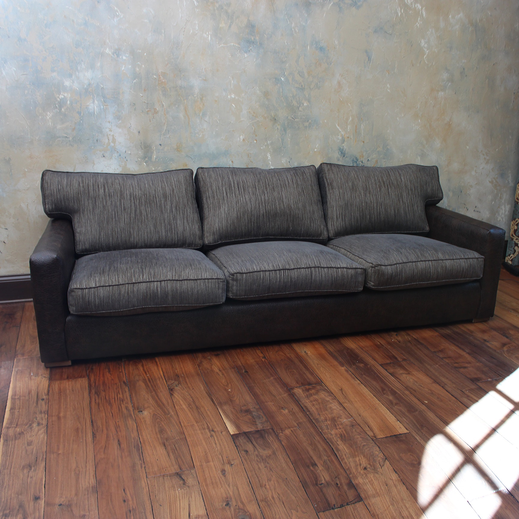 Professionally Re-Upholstered A. Rudin Sofa