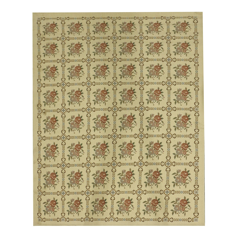 "Couristan ""Petit-Point Classics"" Wool Area Rug"